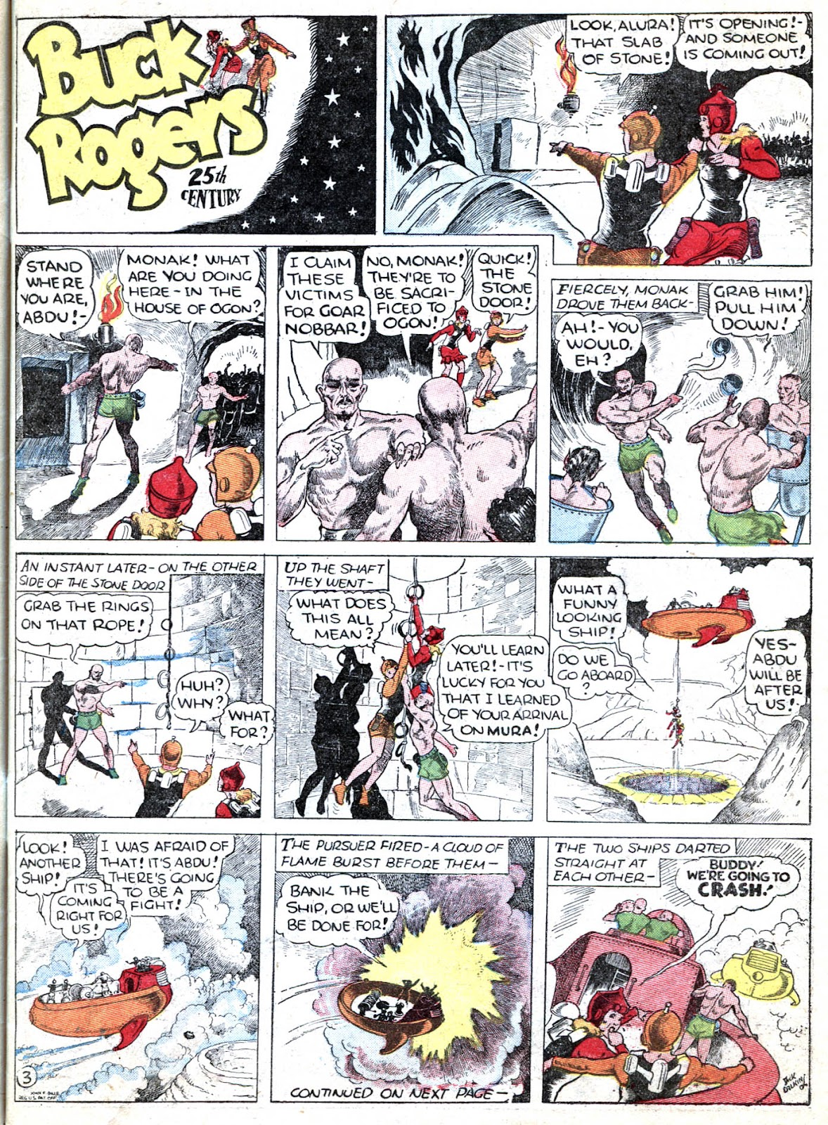 Read online Famous Funnies comic -  Issue #32 - 19
