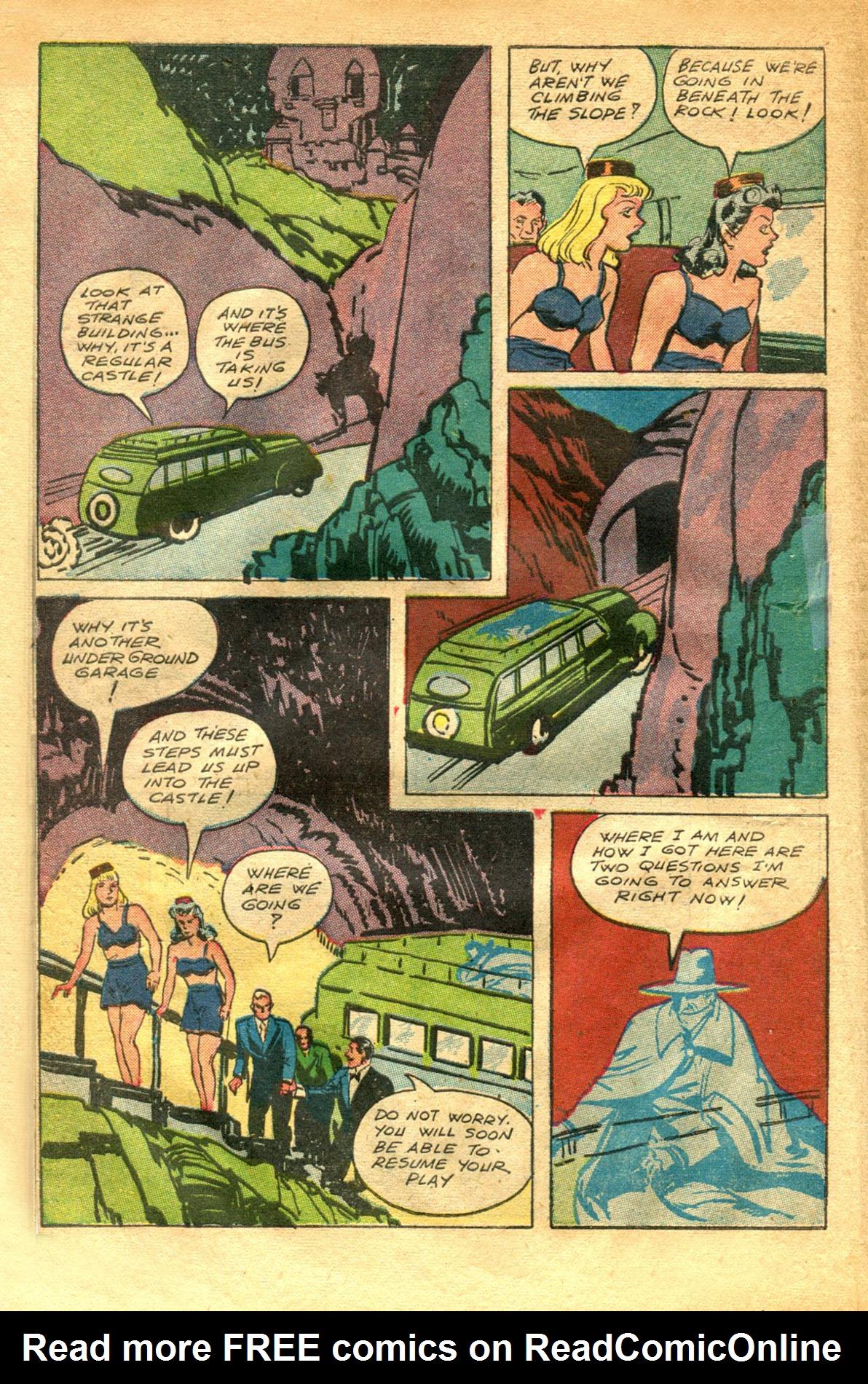 Read online Shadow Comics comic -  Issue #48 - 10
