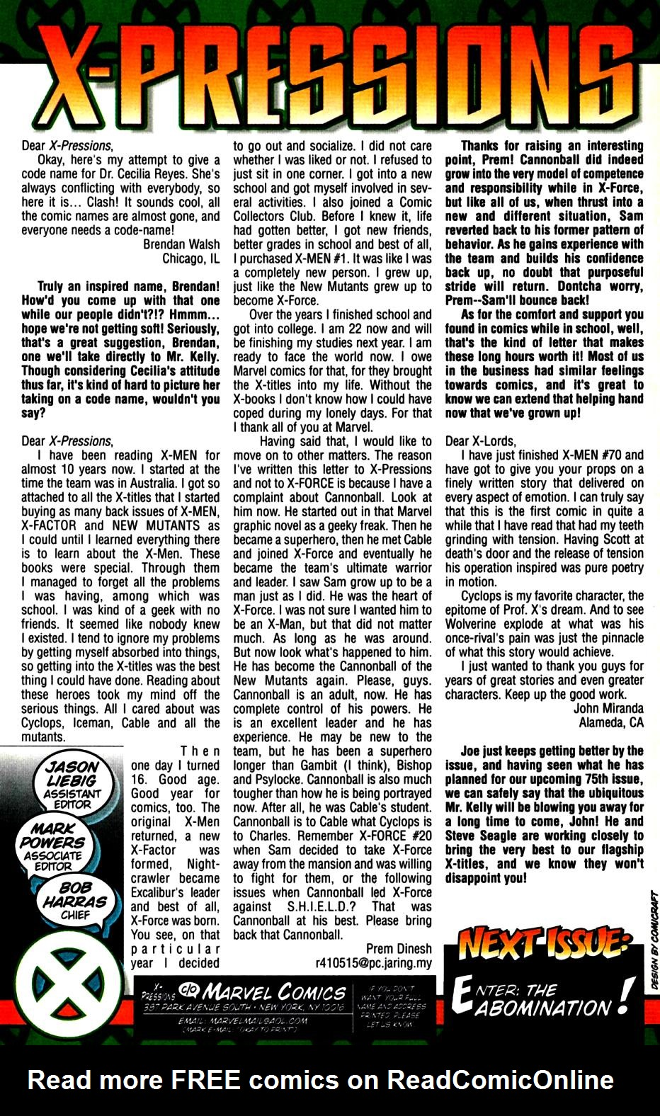 X-Men (1991) 73 Page 24