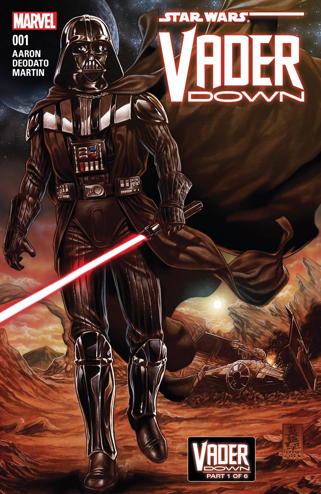 Star Wars: Vader Down 1 Page 1
