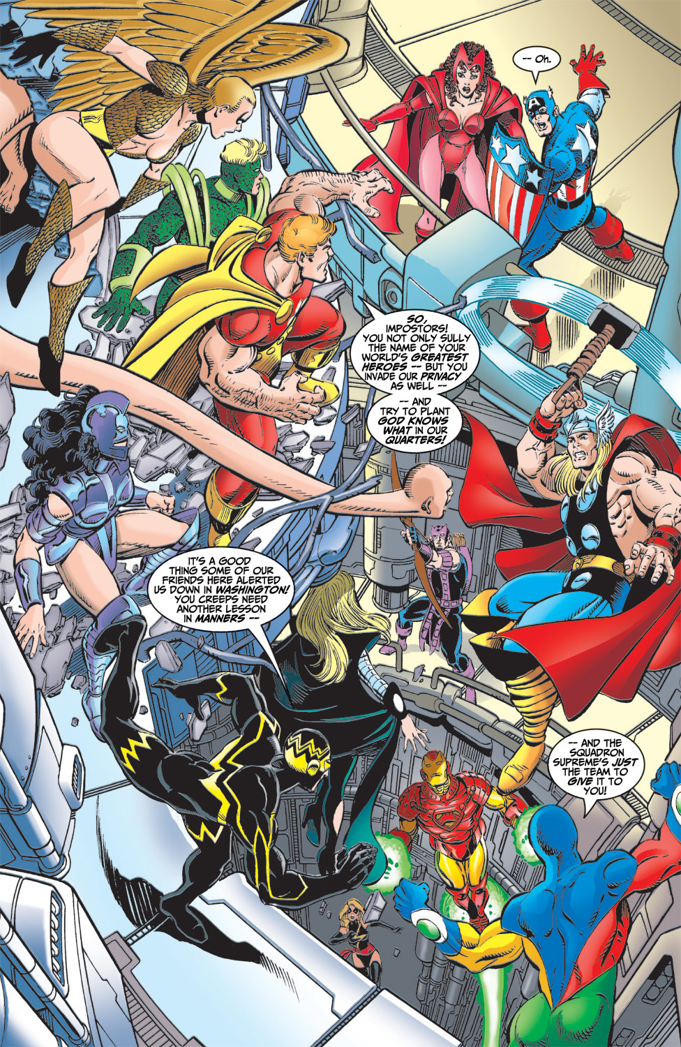 Read online Avengers (1998) comic -  Issue #6 - 12