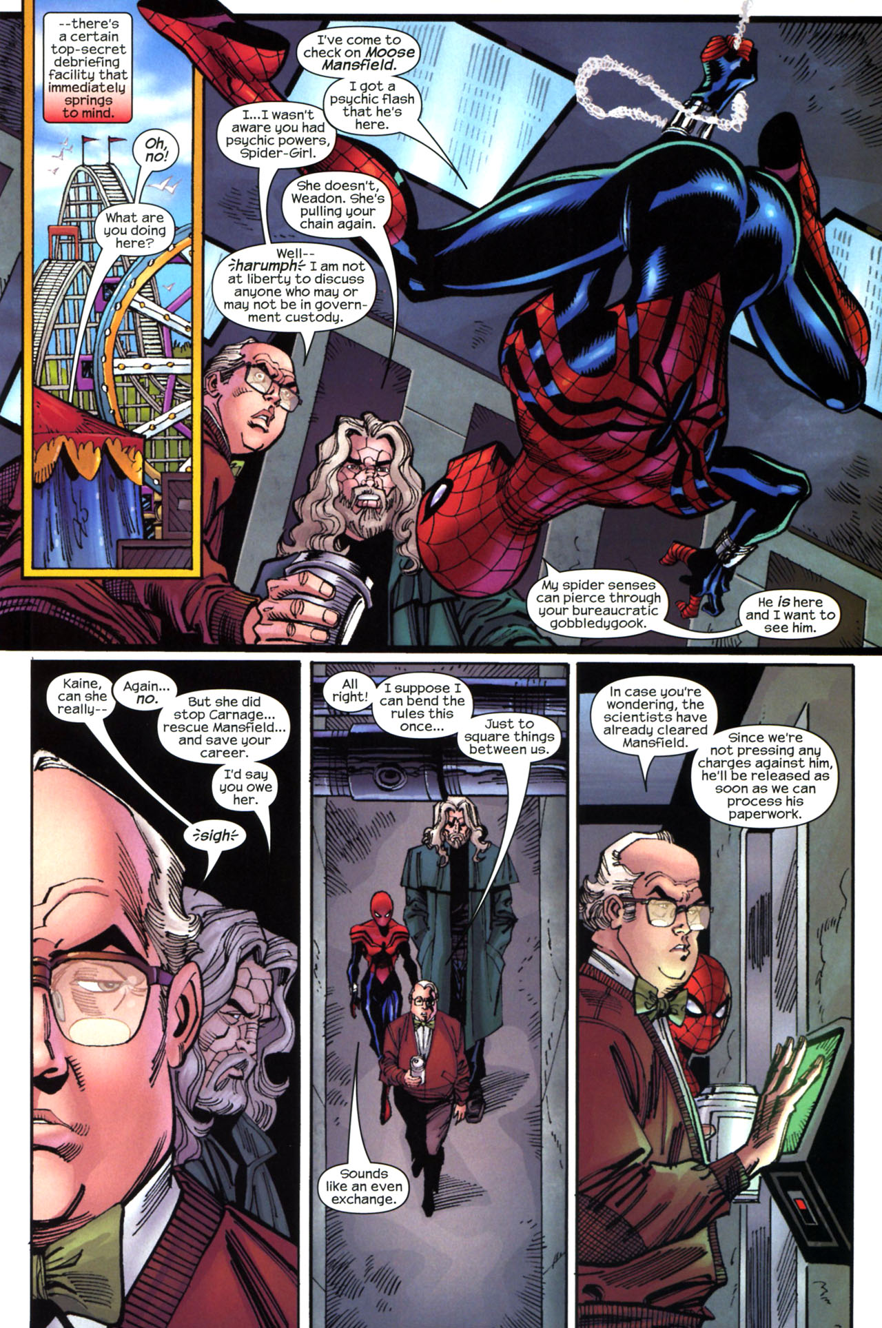 Read online Amazing Spider-Girl comic -  Issue #13 - 16