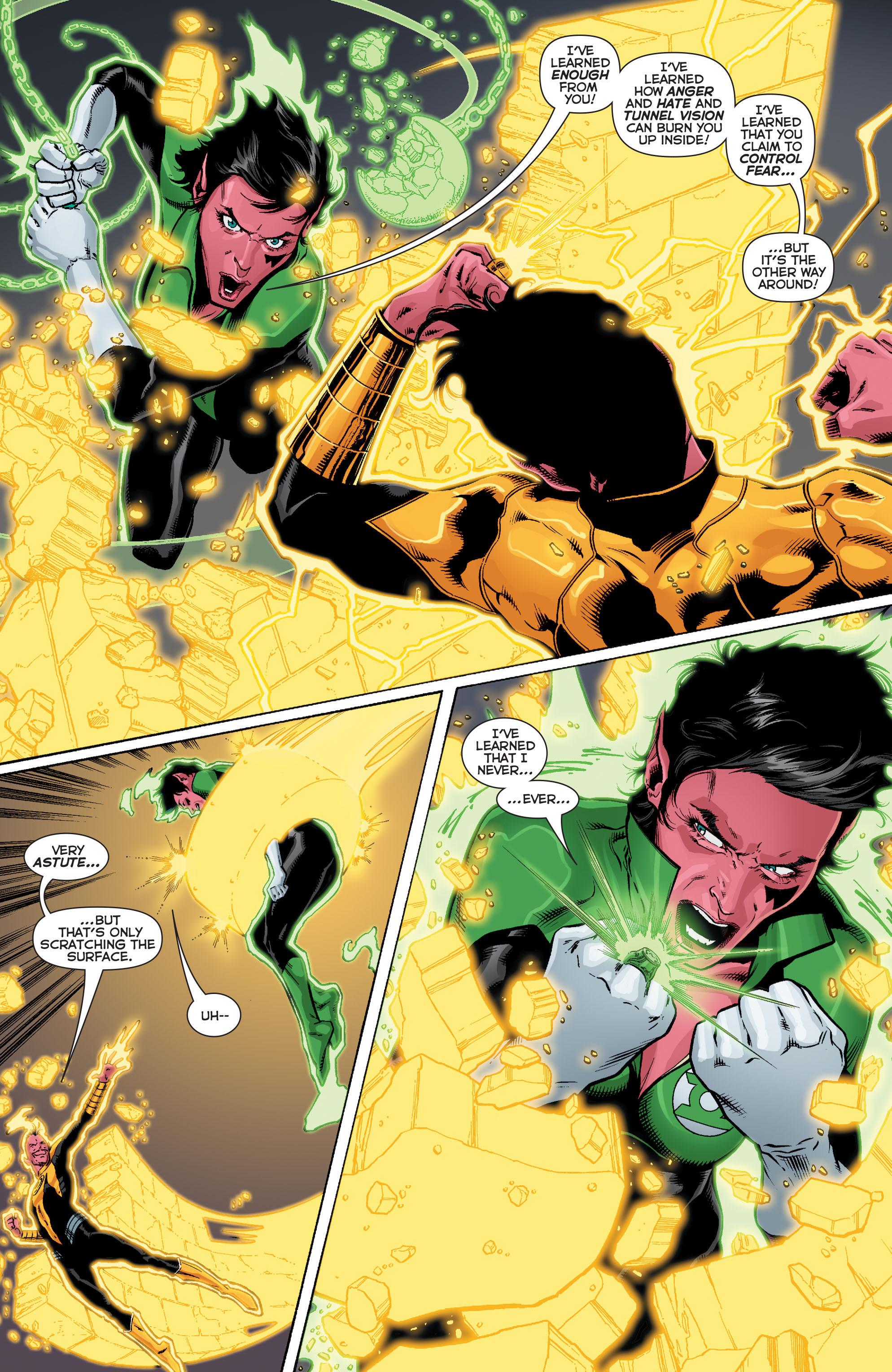 Read online Sinestro comic -  Issue #12 - 18