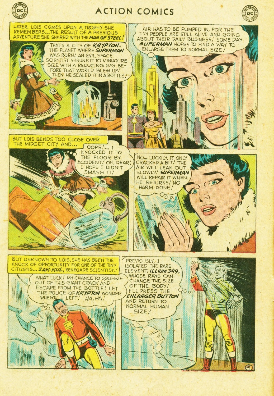 Read online Action Comics (1938) comic -  Issue #245 - 6