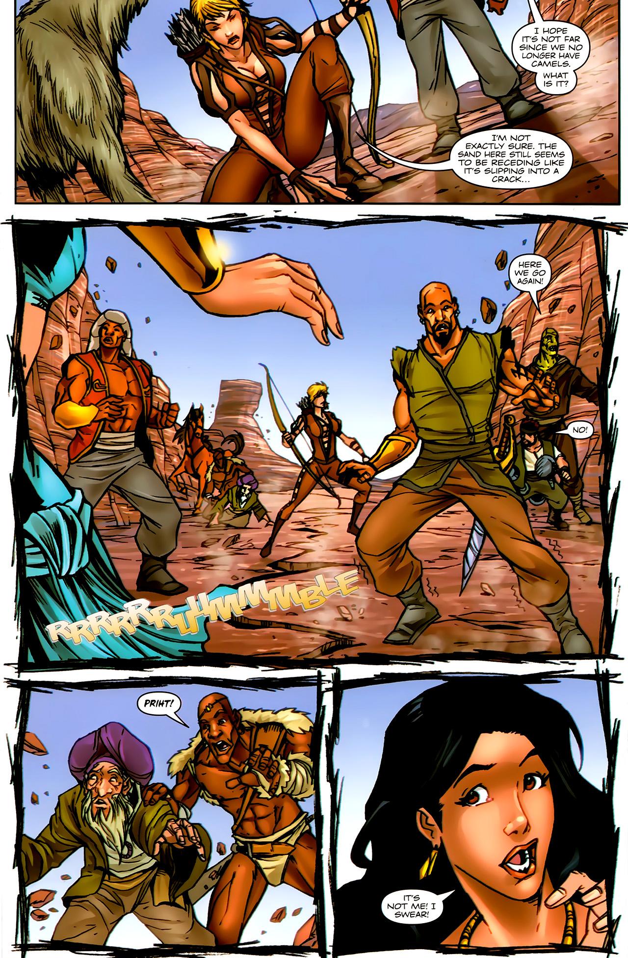 Read online 1001 Arabian Nights: The Adventures of Sinbad comic -  Issue #9 - 21