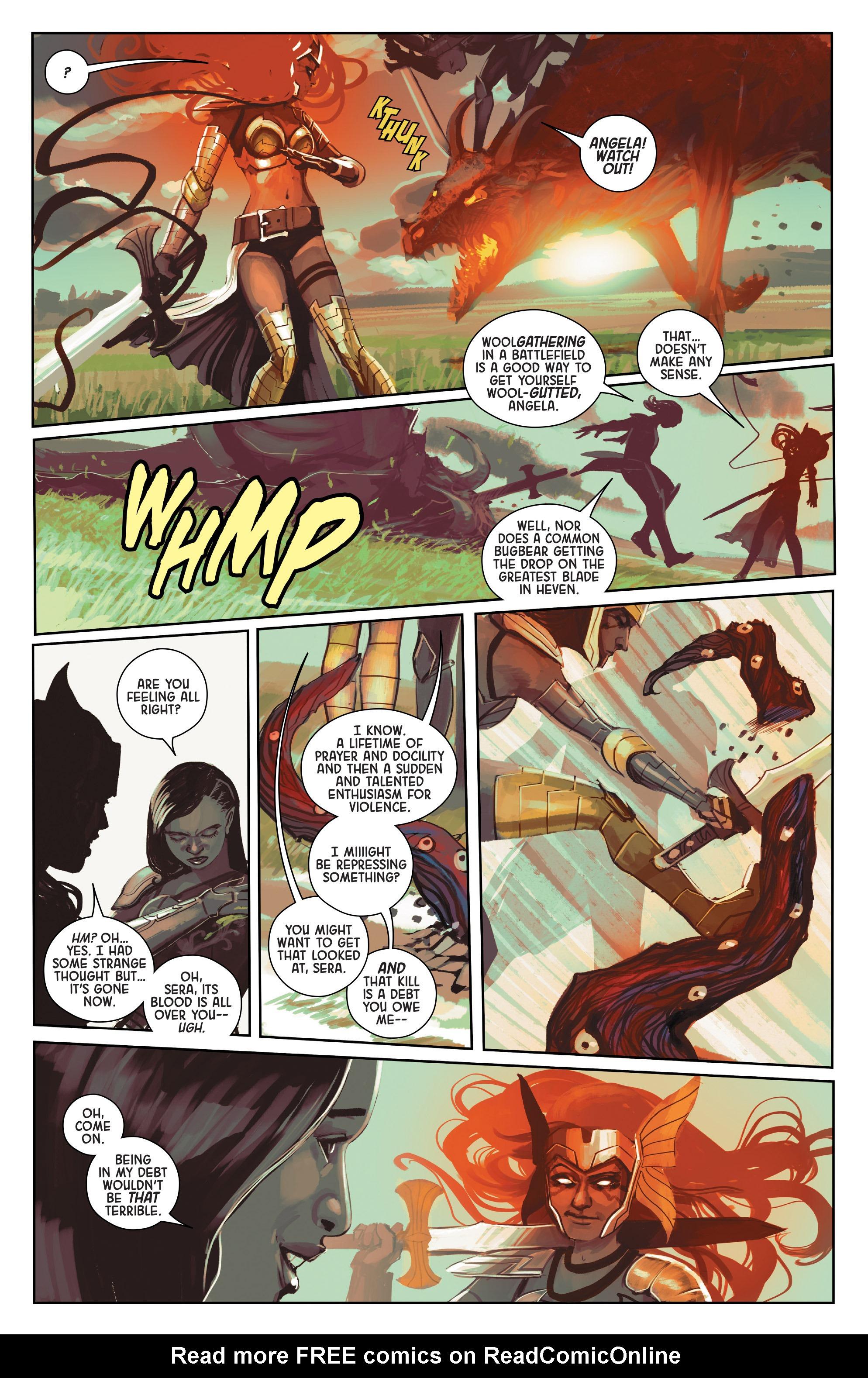 Read online Angela: Queen Of Hel comic -  Issue #1 - 7