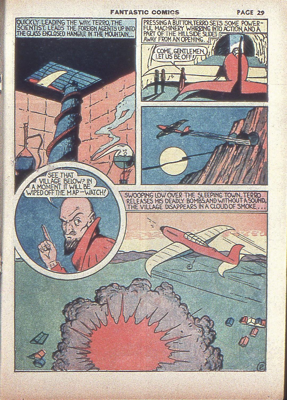 Read online Fantastic Comics comic -  Issue #4 - 31