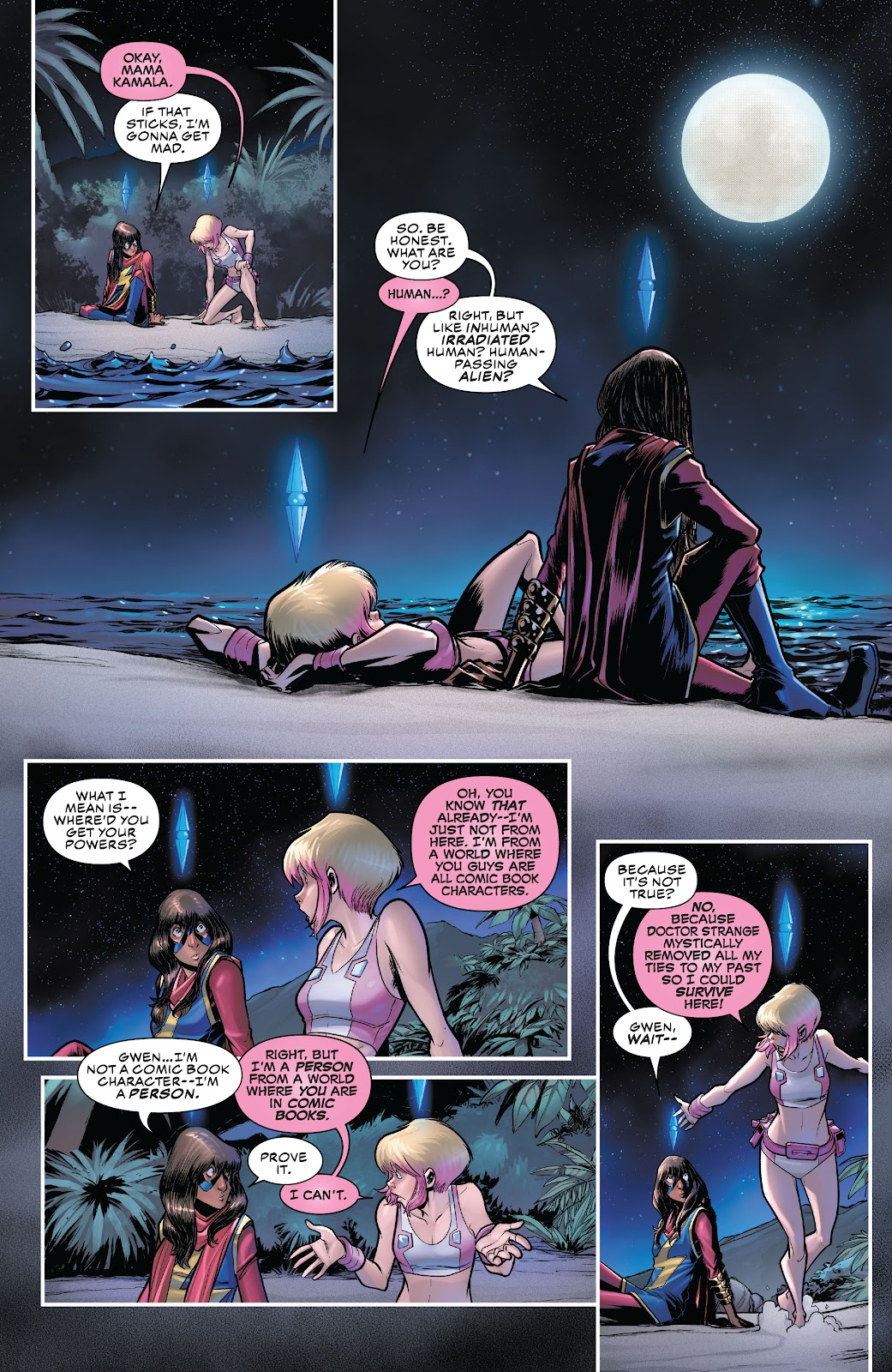 Gwenpool Strikes Back issue _TPB - Page 99