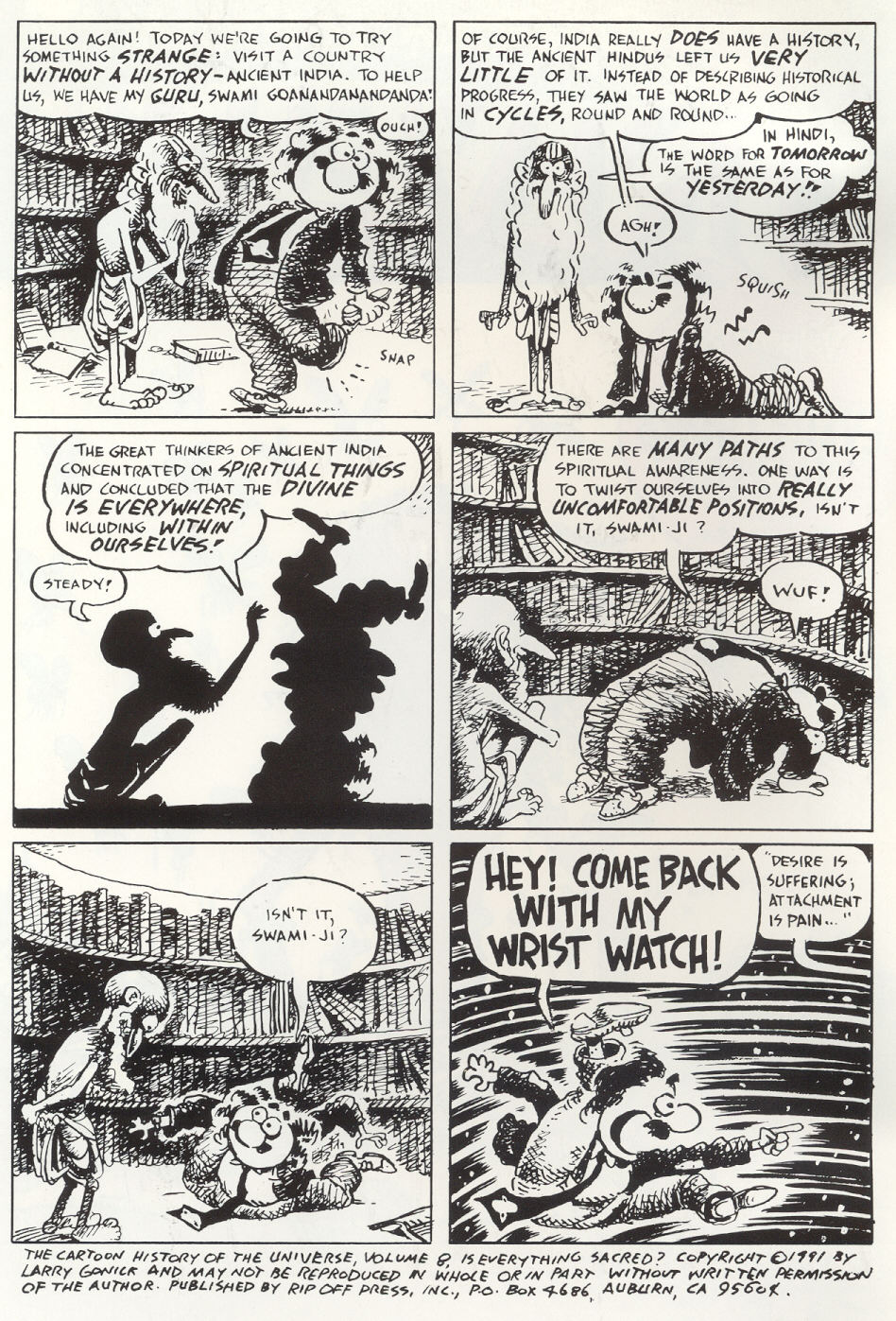 Read online The Cartoon History of the Universe comic -  Issue #8 - 3