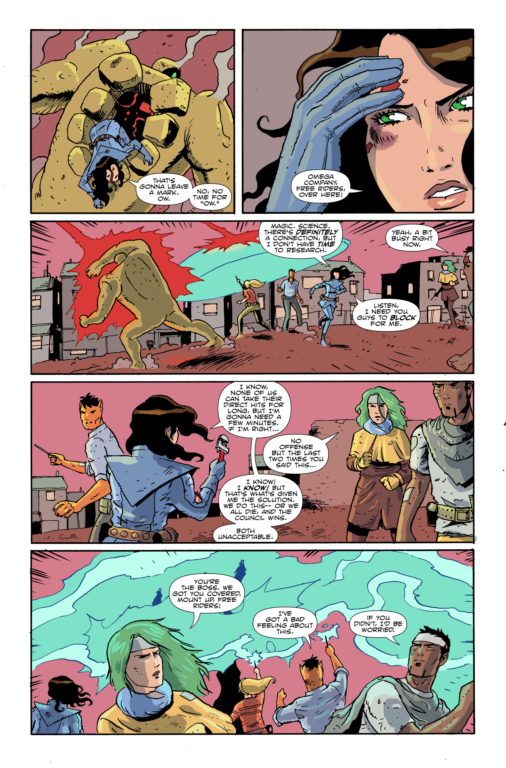 Read online Amelia Cole Versus The End of Everything comic -  Issue #28 - 15