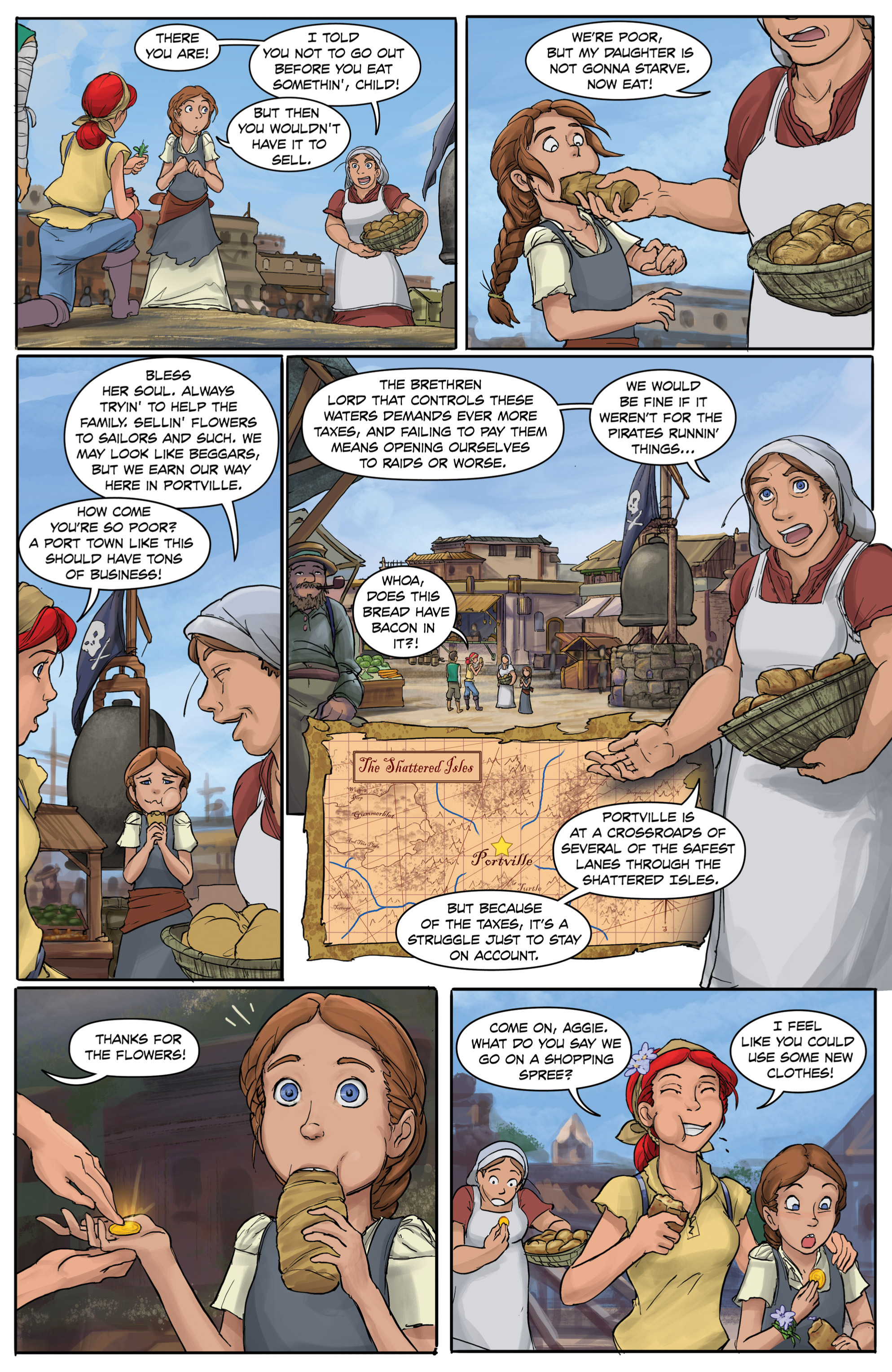 Read online Anne Bonnie comic -  Issue #4 - 17