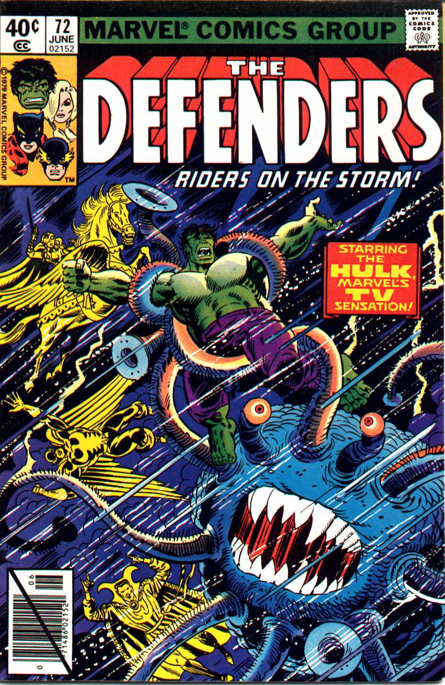 The Defenders (1972) 72 Page 1