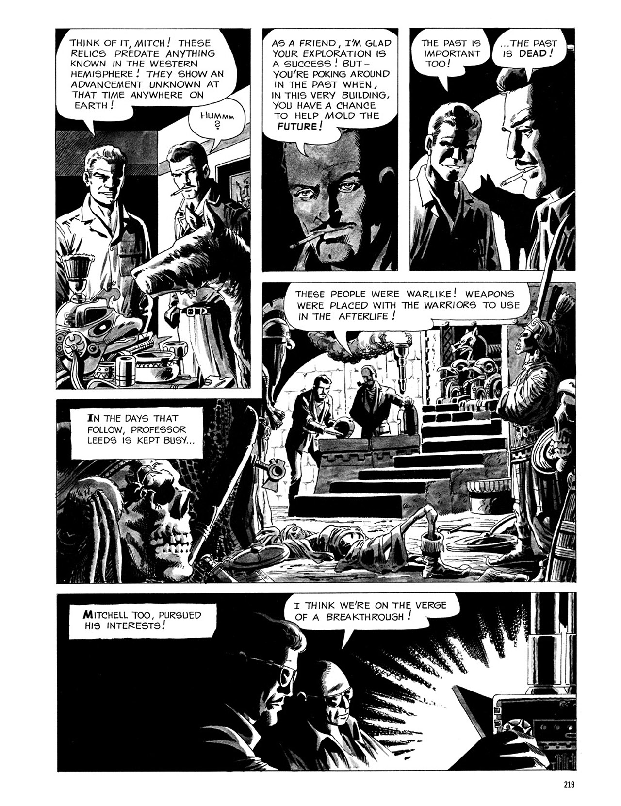 Read online Eerie Archives comic -  Issue # TPB 3 - 220