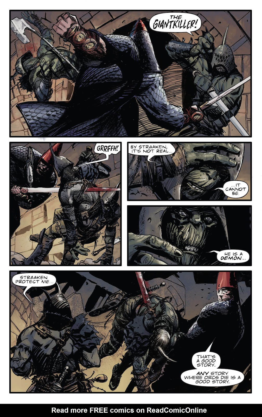 Read online Giantkillers One-Shot comic -  Issue # Full - 7