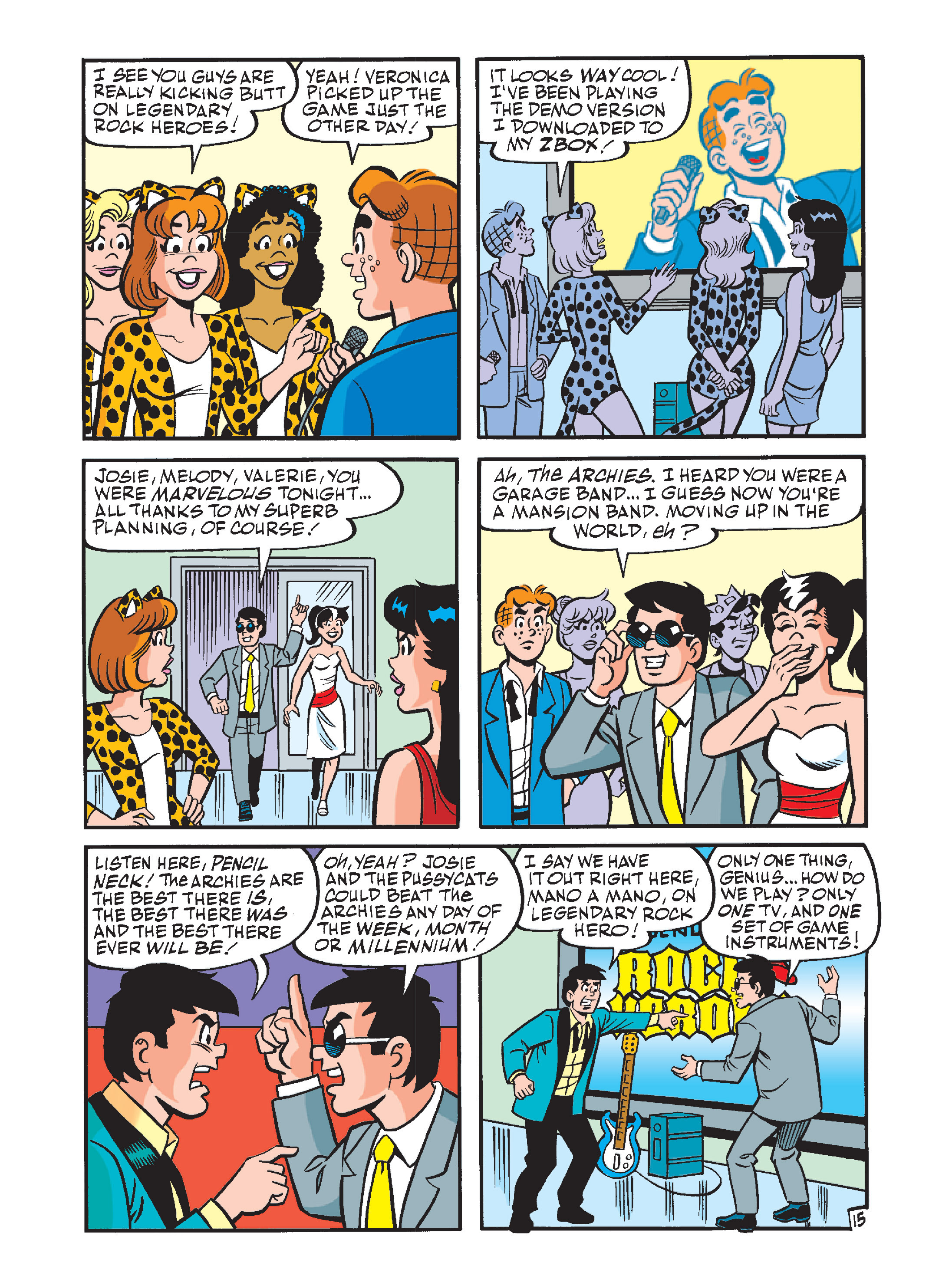 Read online Archie's Funhouse Double Digest comic -  Issue #12 - 50