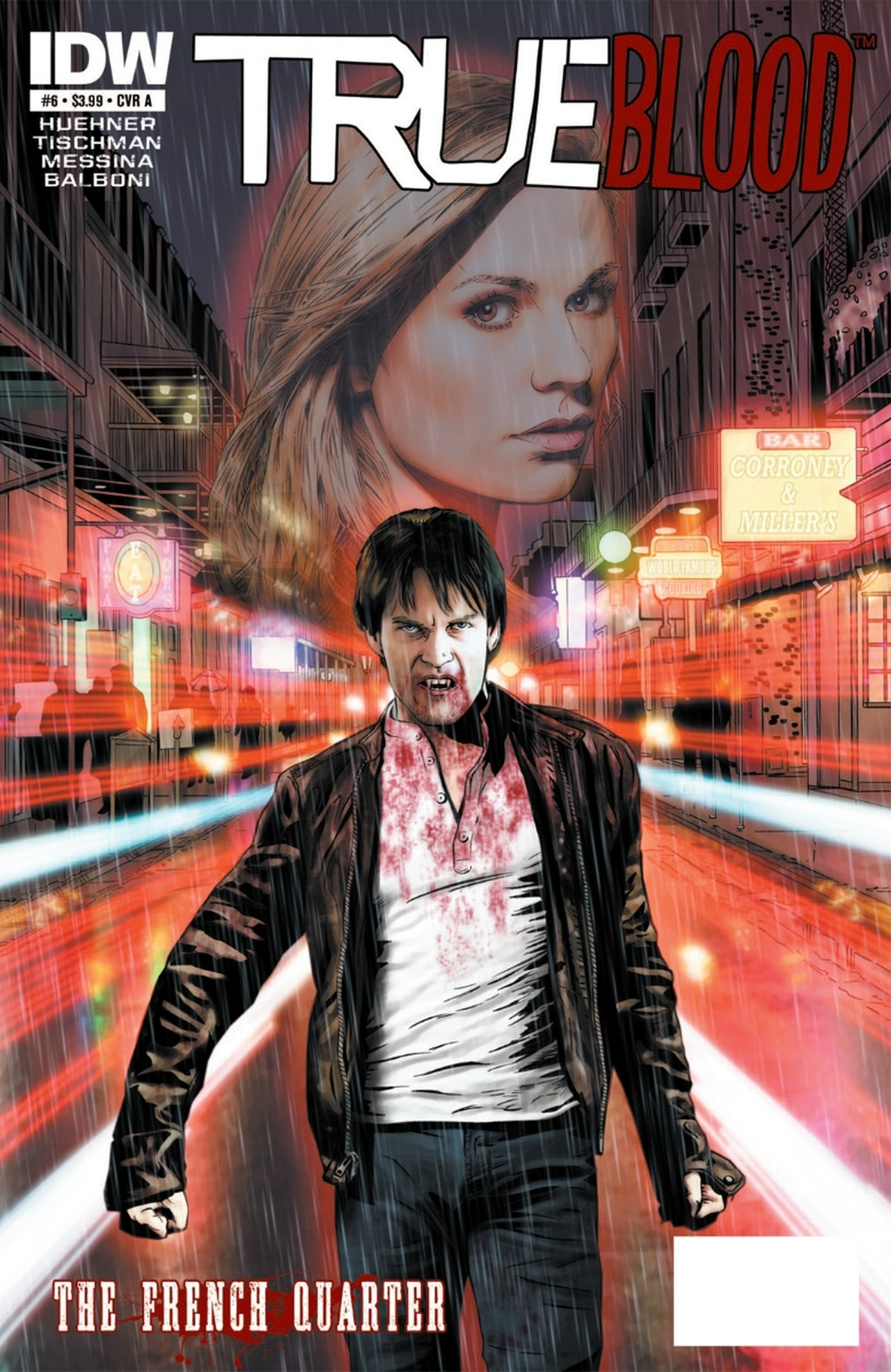 Read online True Blood: French Quarter comic -  Issue #6 - 1