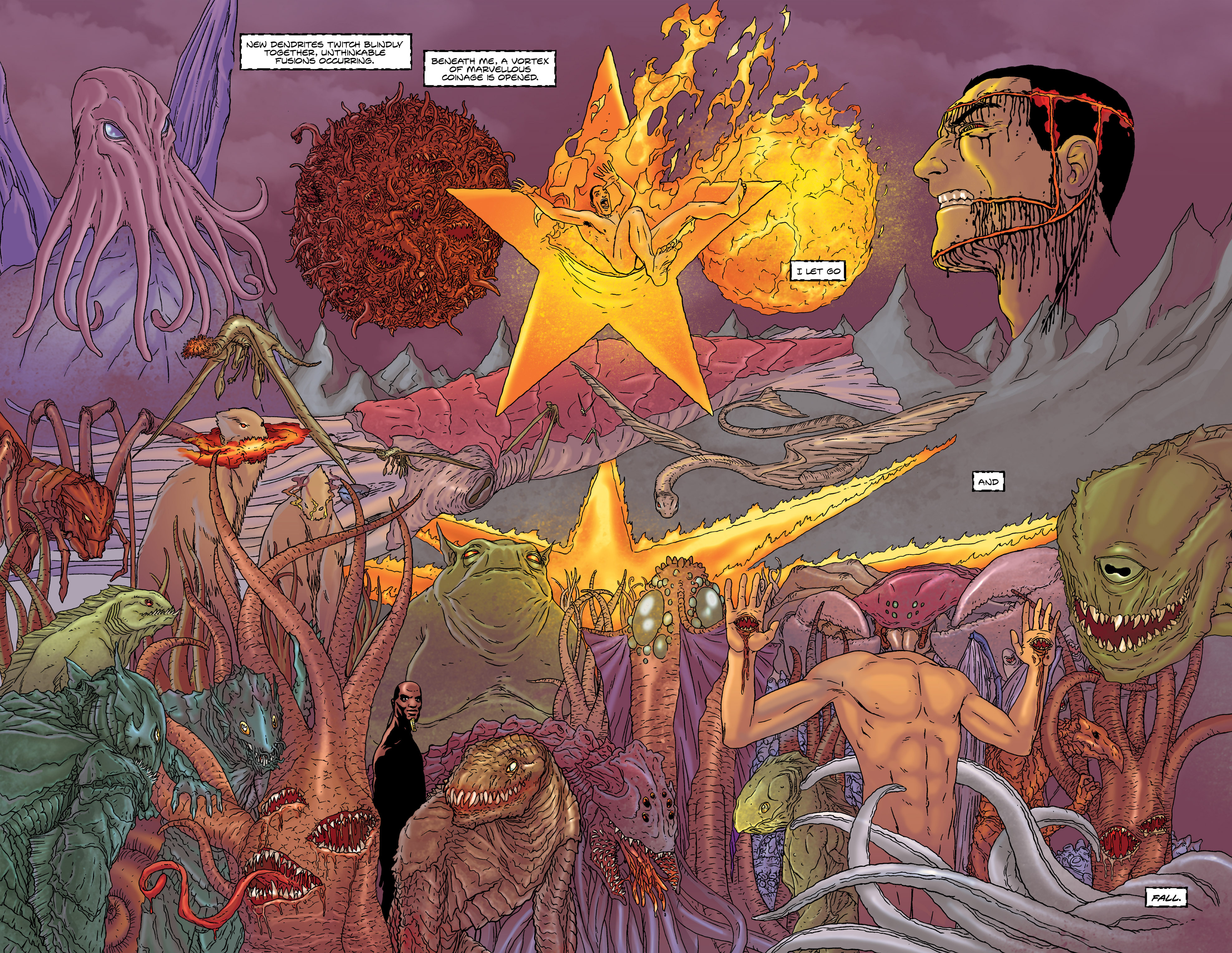 Read online Alan Moore's The Courtyard comic -  Issue # TPB - 46