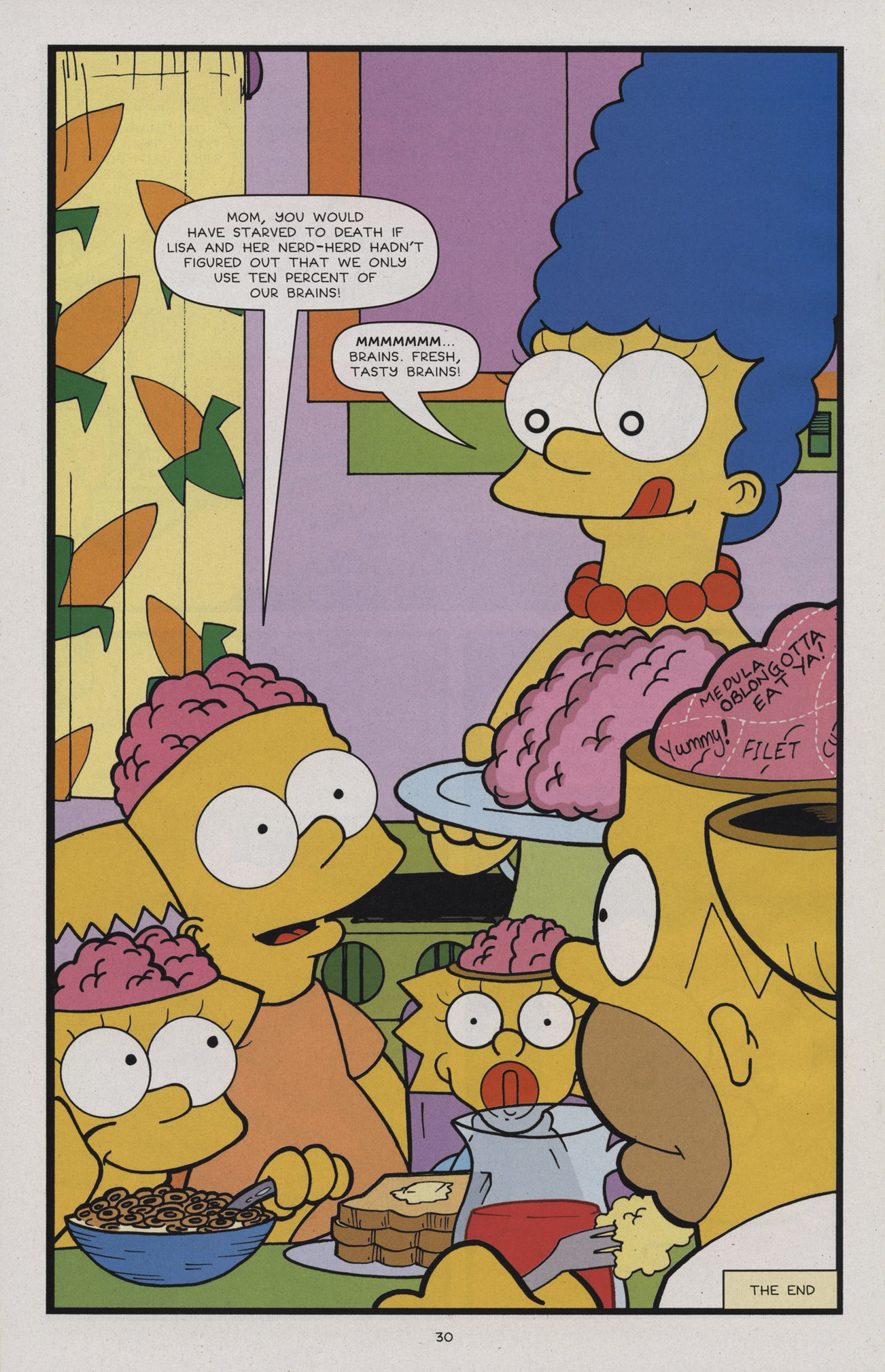 Read online Treehouse of Horror comic -  Issue #17 - 31
