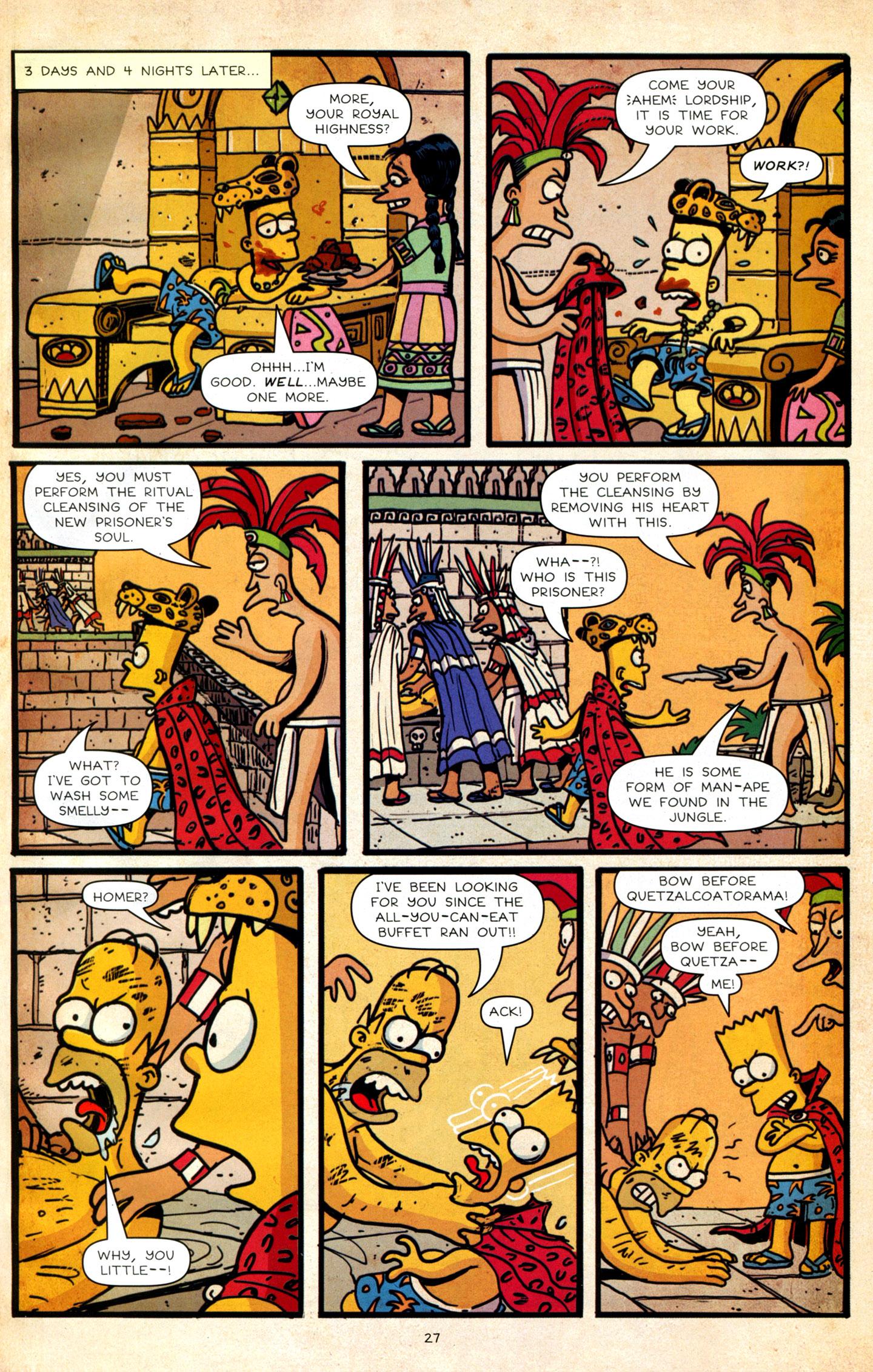 Read online Simpsons Comics Presents Bart Simpson comic -  Issue #64 - 29