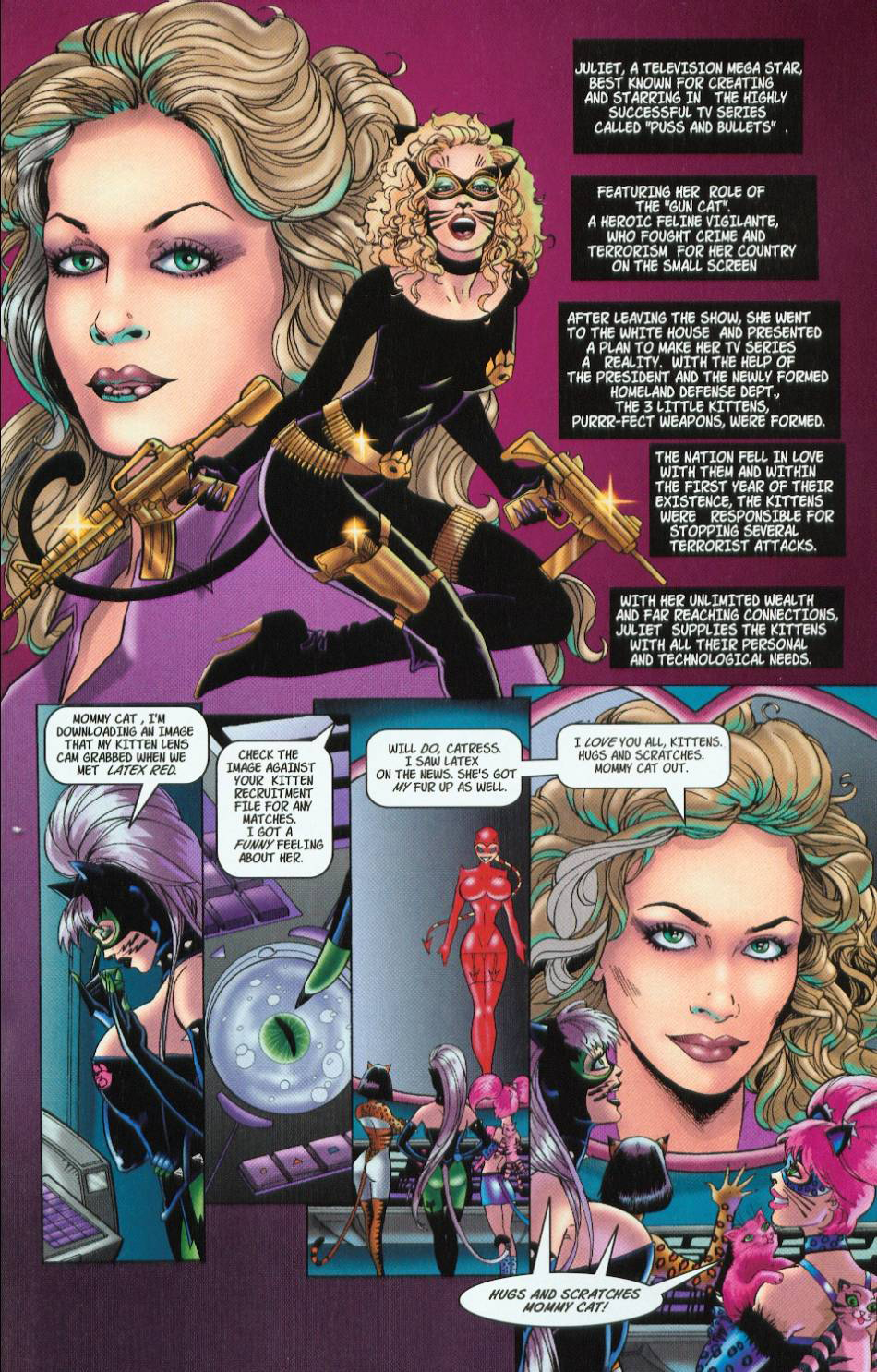 Read online 3 Little Kittens: Purrr-fect Weapons comic -  Issue #1 - 25