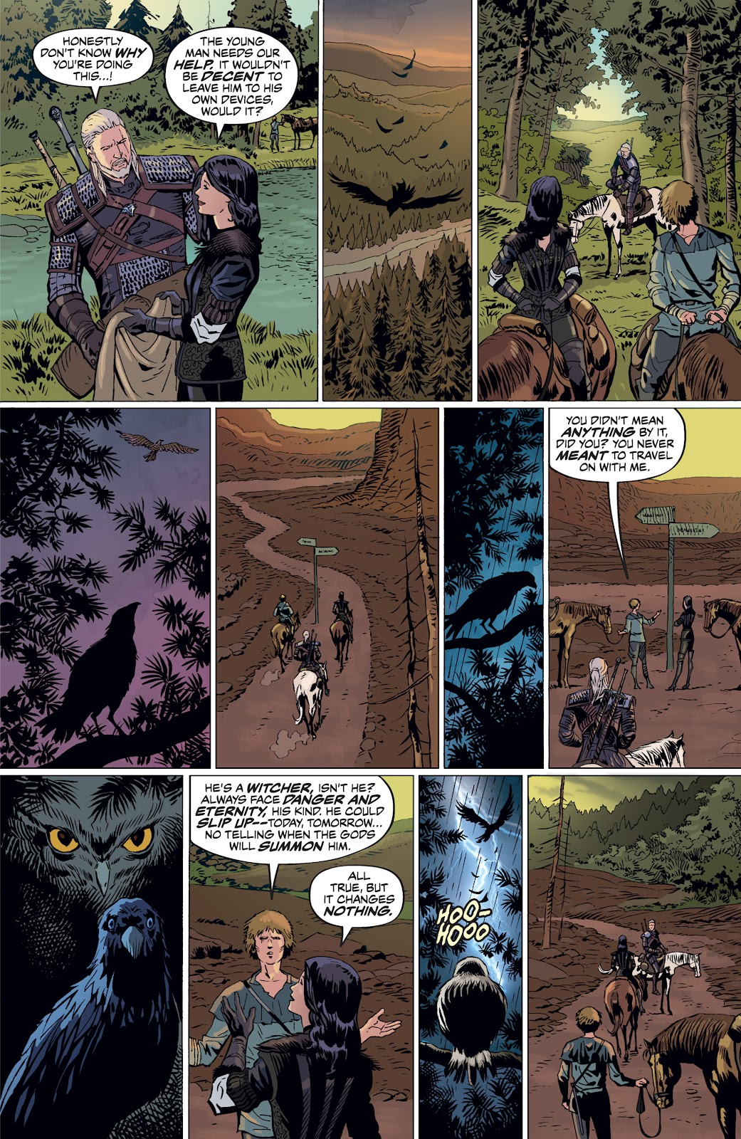Read online The Witcher Omnibus comic -  Issue # TPB (Part 4) - 84