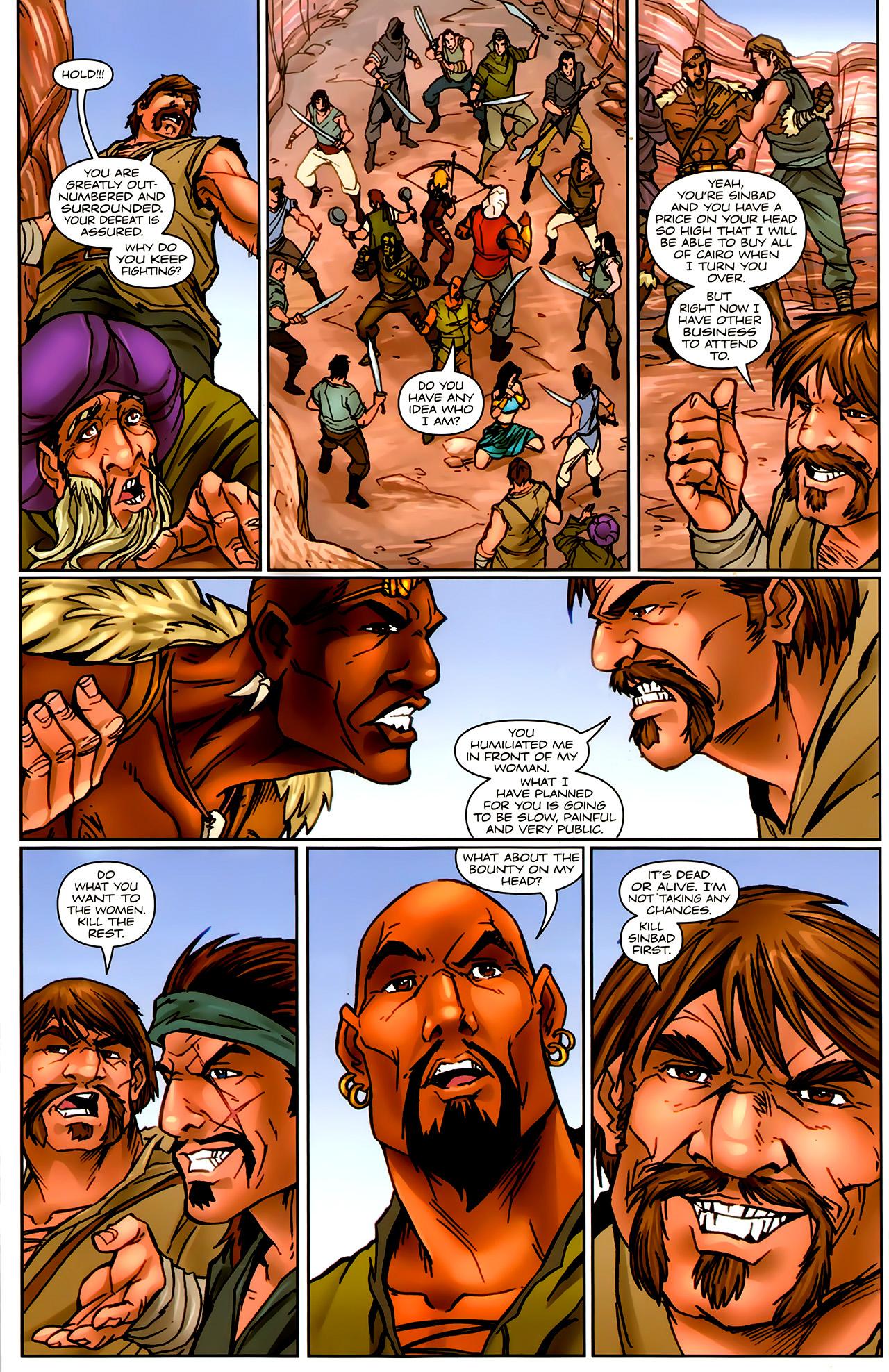 Read online 1001 Arabian Nights: The Adventures of Sinbad comic -  Issue #9 - 19