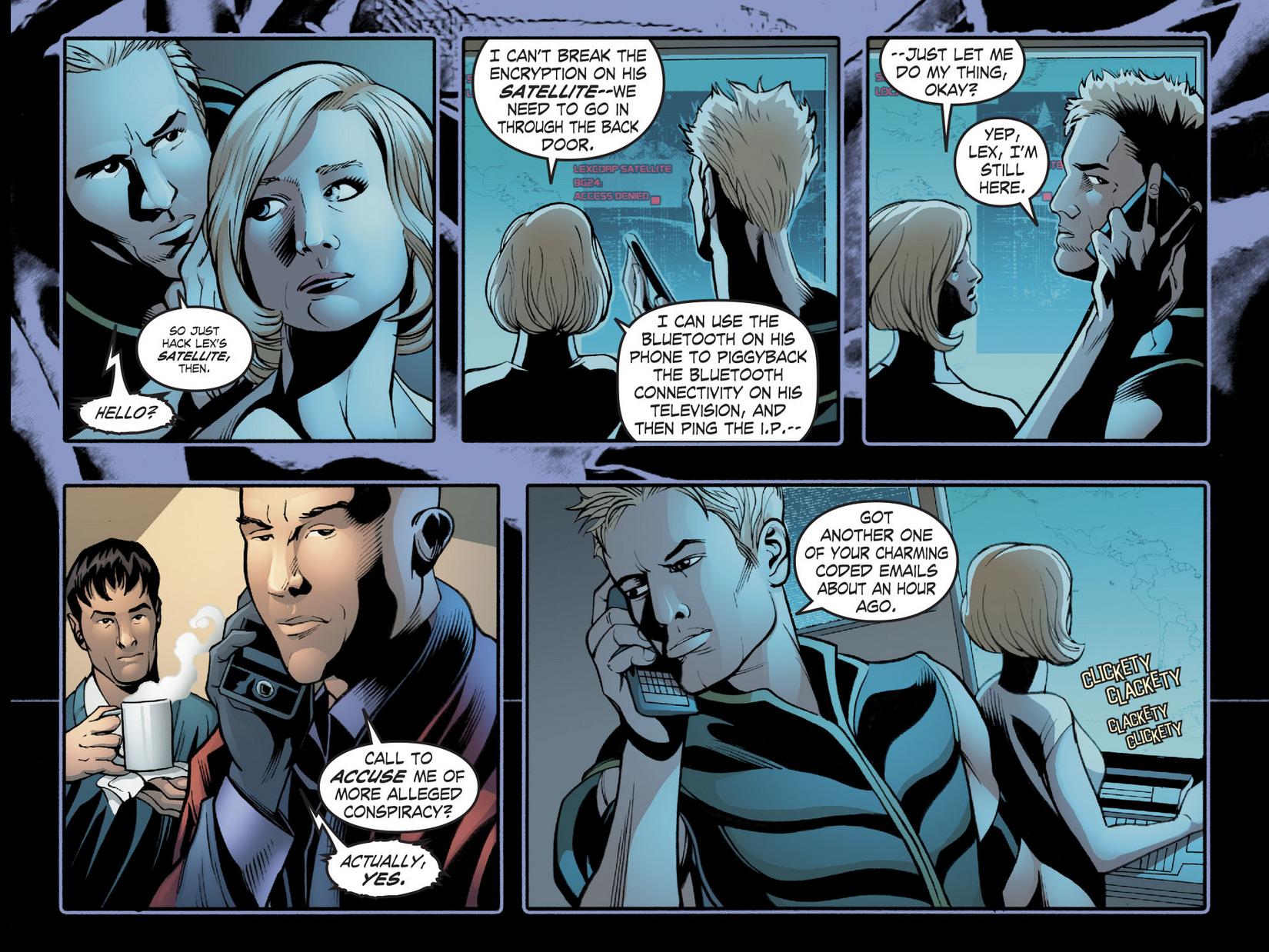 Read online Smallville: Season 11 comic -  Issue #20 - 4