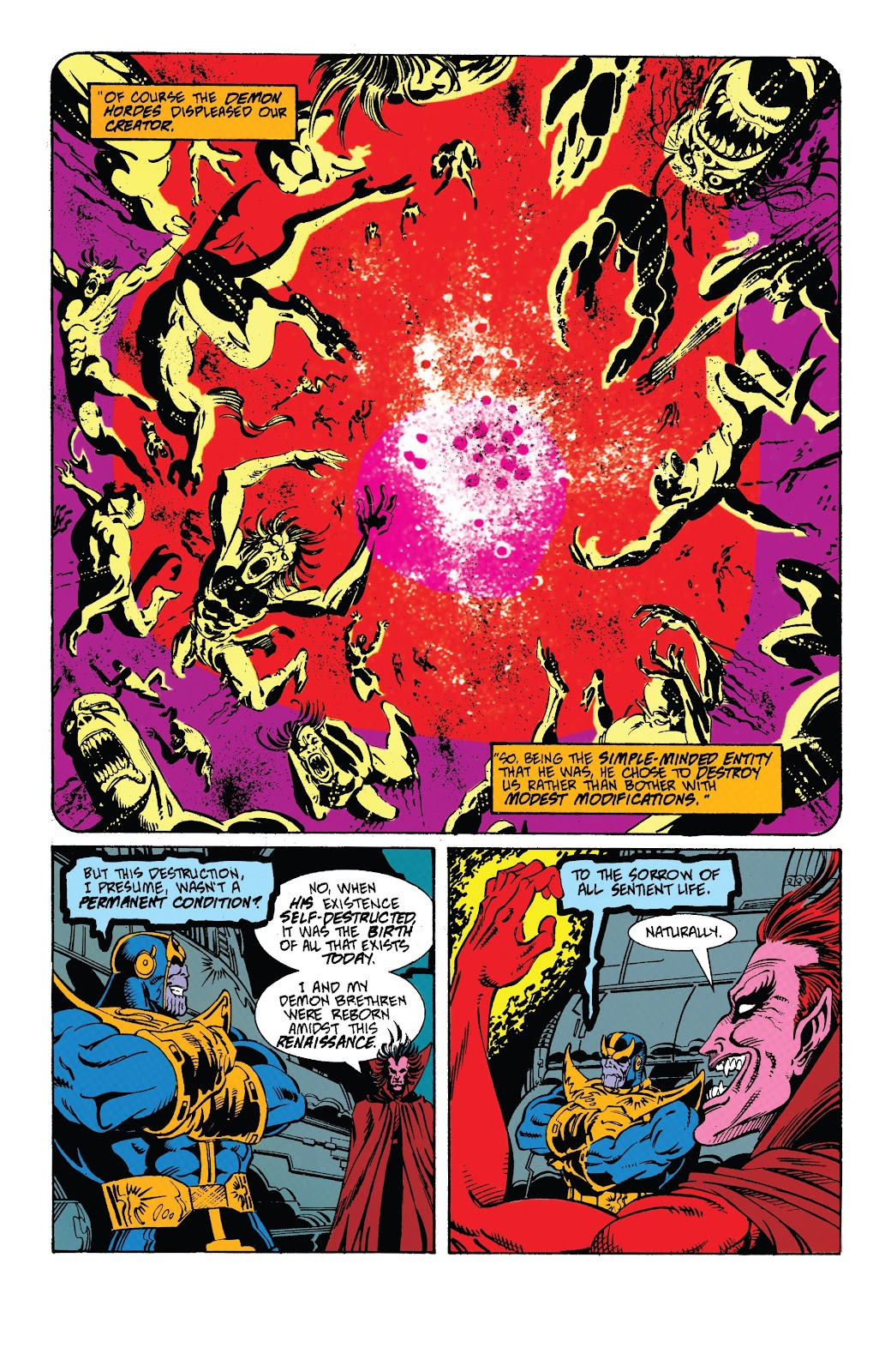 Read online Marvel Tales: Thanos comic -  Issue # Full - 36