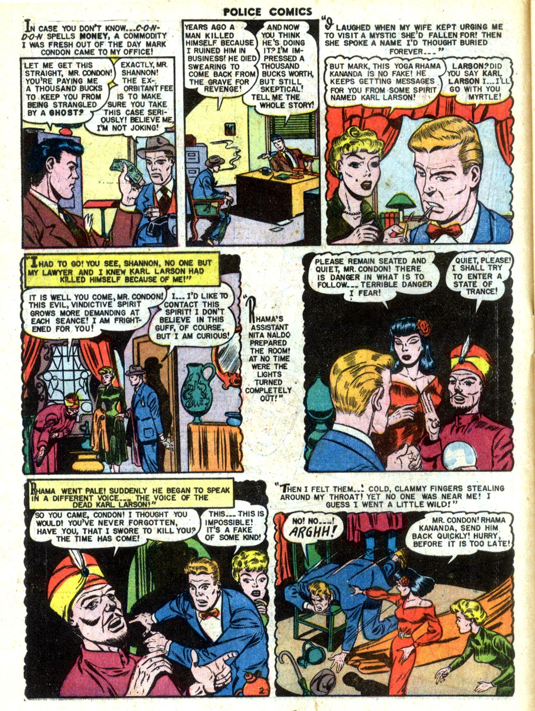 Police Comics issue 105 - Page 4