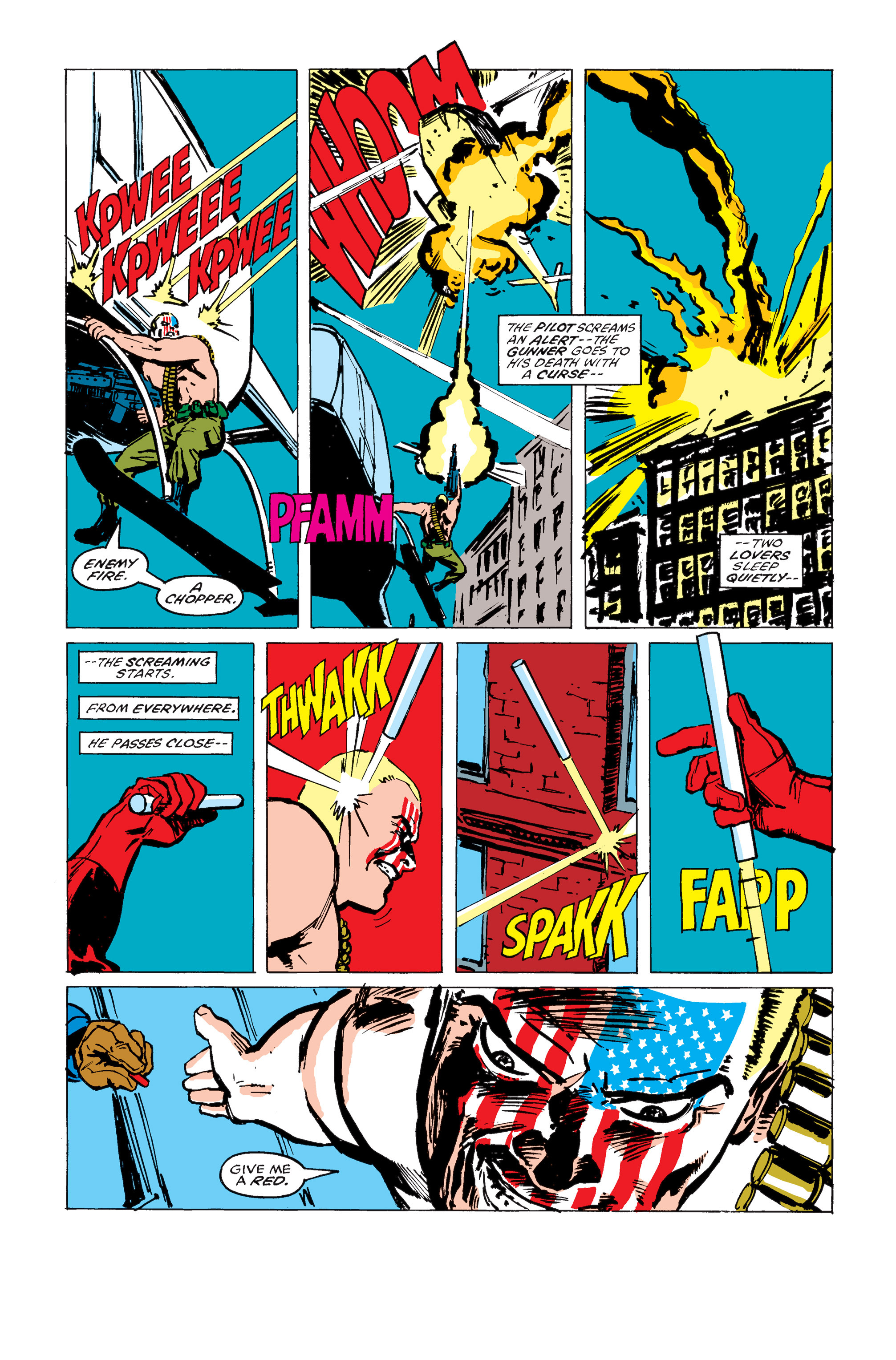 Read online Daredevil: Born Again comic -  Issue # Full - 167