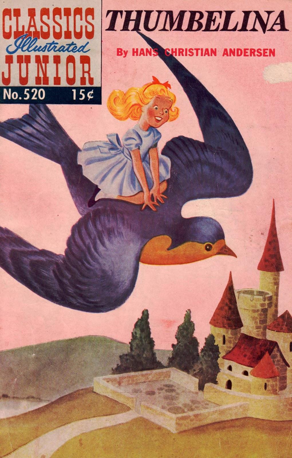 Classics Illustrated Junior 520 Page 1