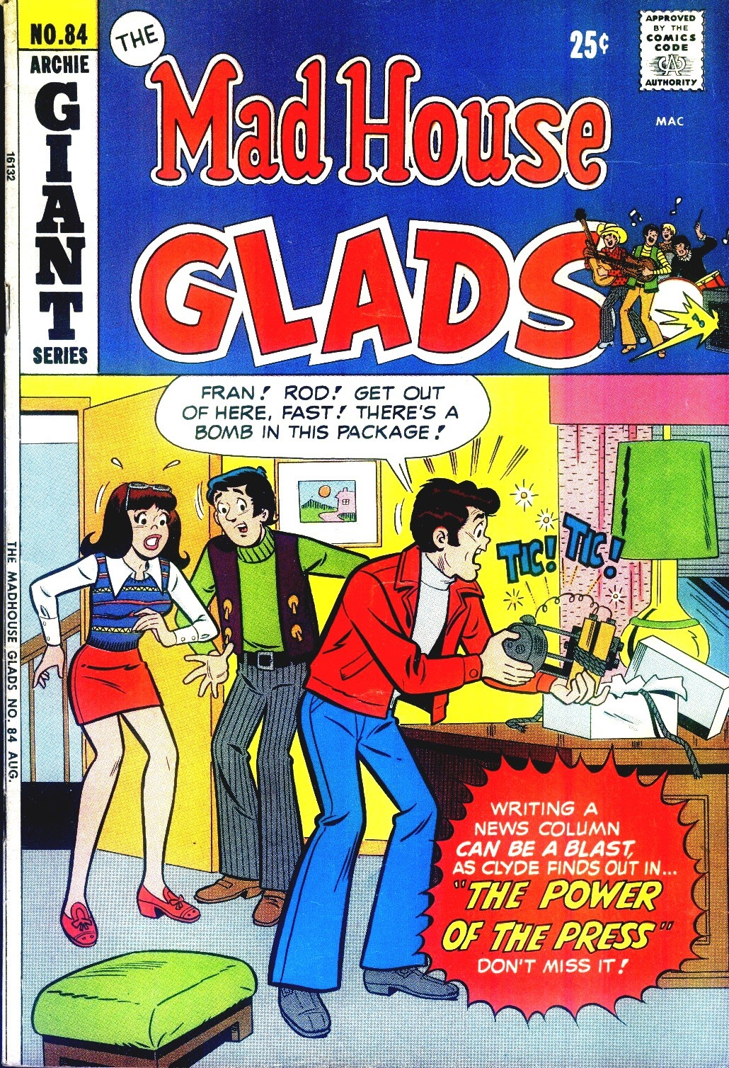 Read online The Mad House Glads comic -  Issue #84 - 1