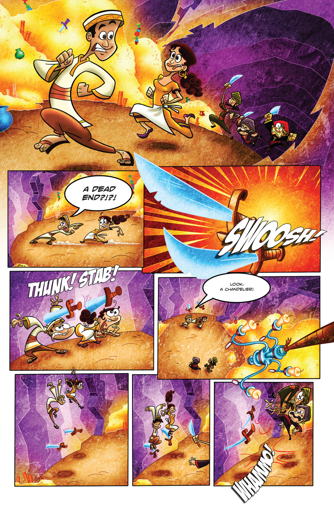 Read online 1001 Nights comic -  Issue #4 - 20
