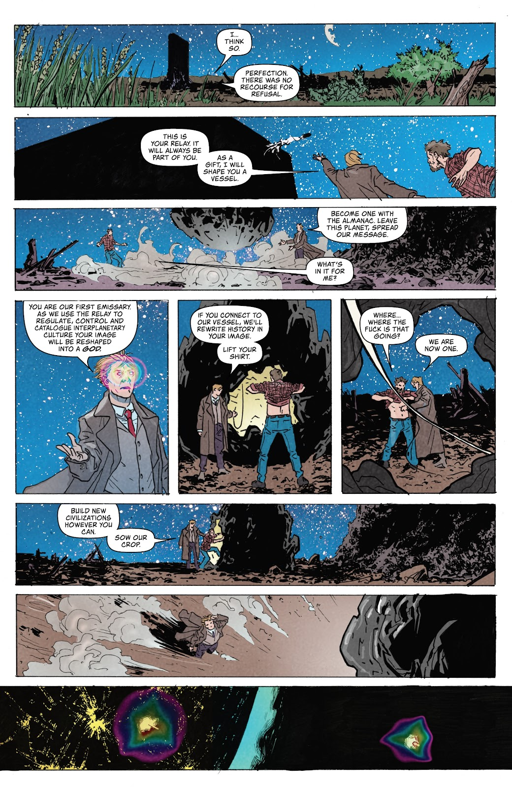 Read online Relay comic -  Issue #5 - 7