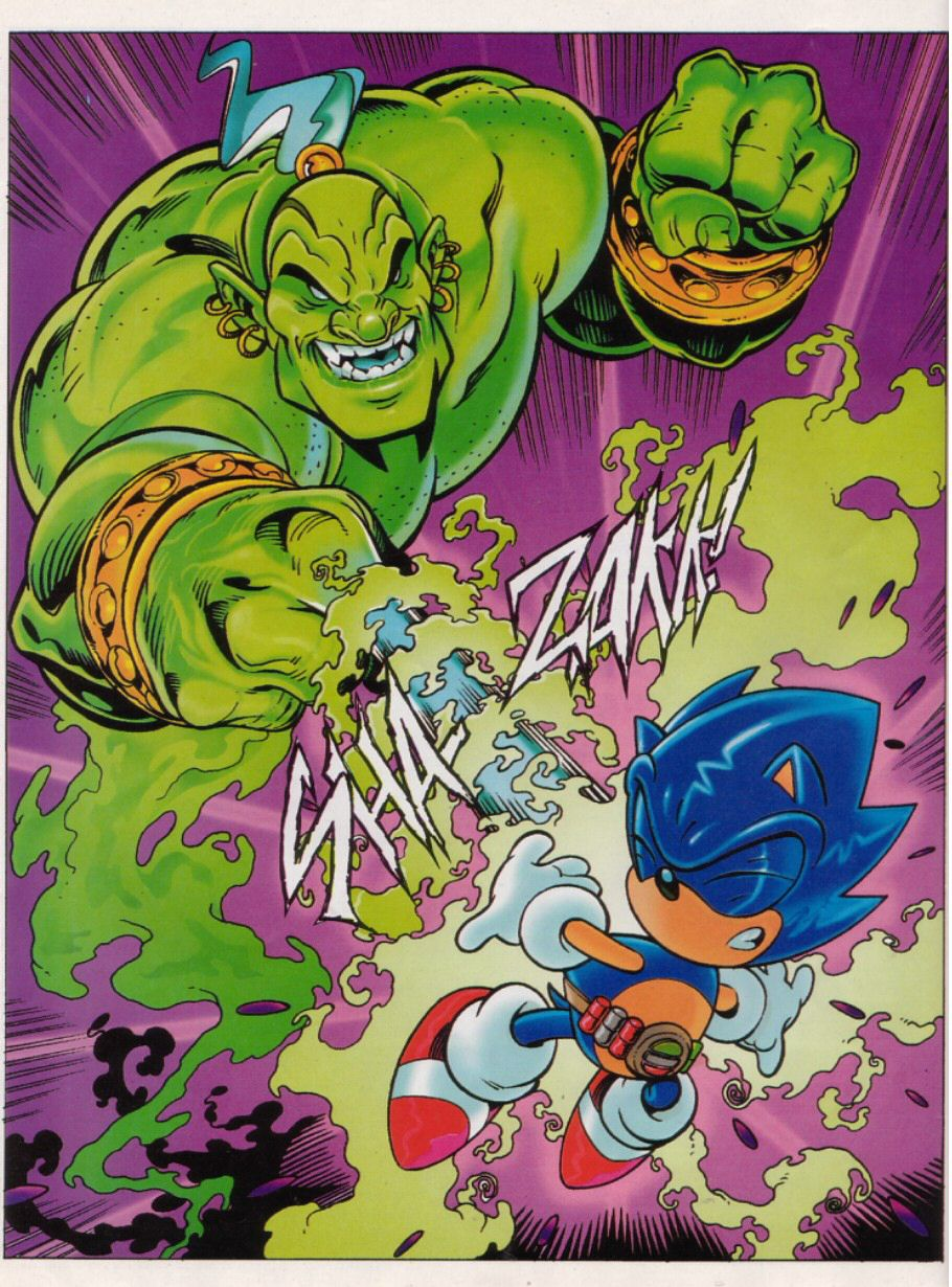 Read online Sonic the Comic comic -  Issue #149 - 6