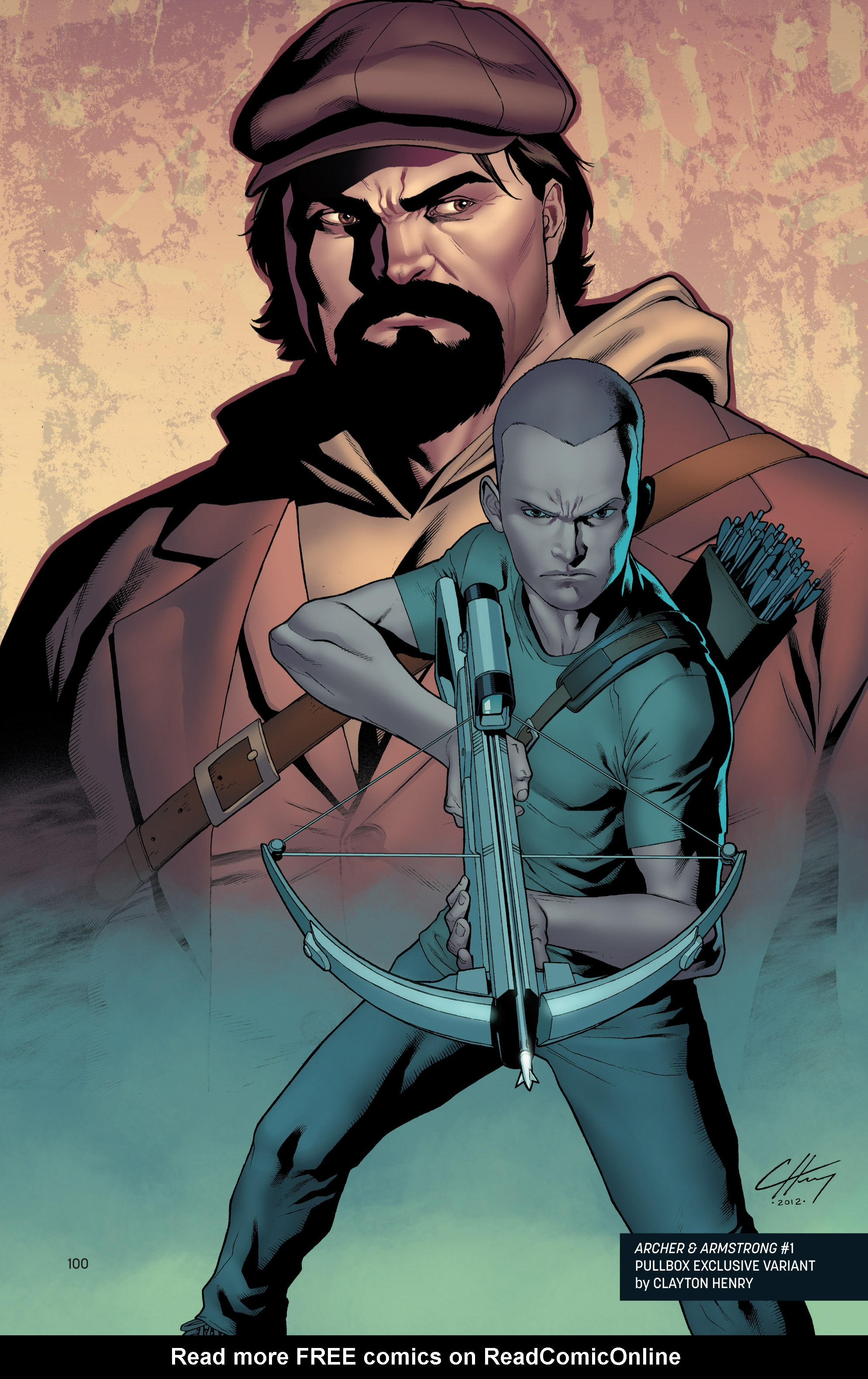 Read online Archer and Armstrong comic -  Issue #Archer and Armstrong _TPB 1 - 101