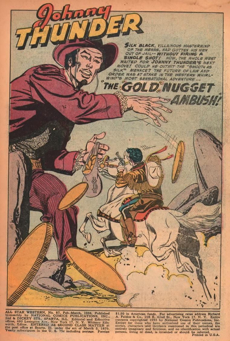 Read online All-Star Western (1951) comic -  Issue #87 - 3