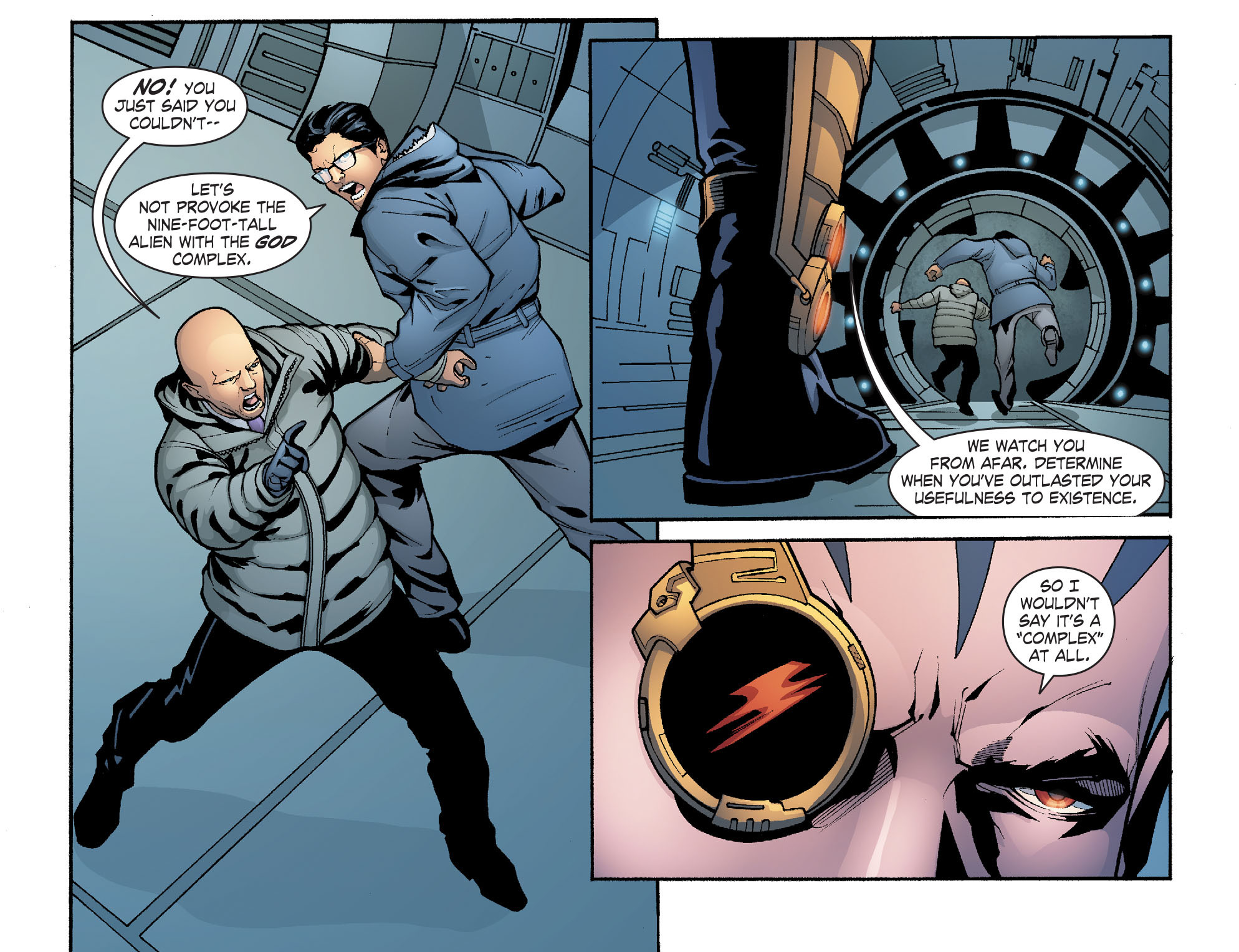 Read online Smallville: Alien comic -  Issue #9 - 14