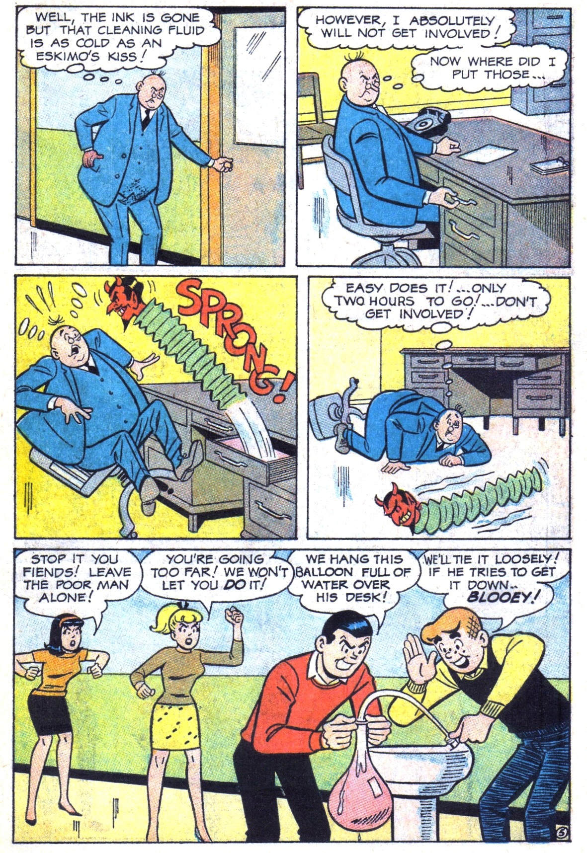 Read online Archie (1960) comic -  Issue #173 - 7