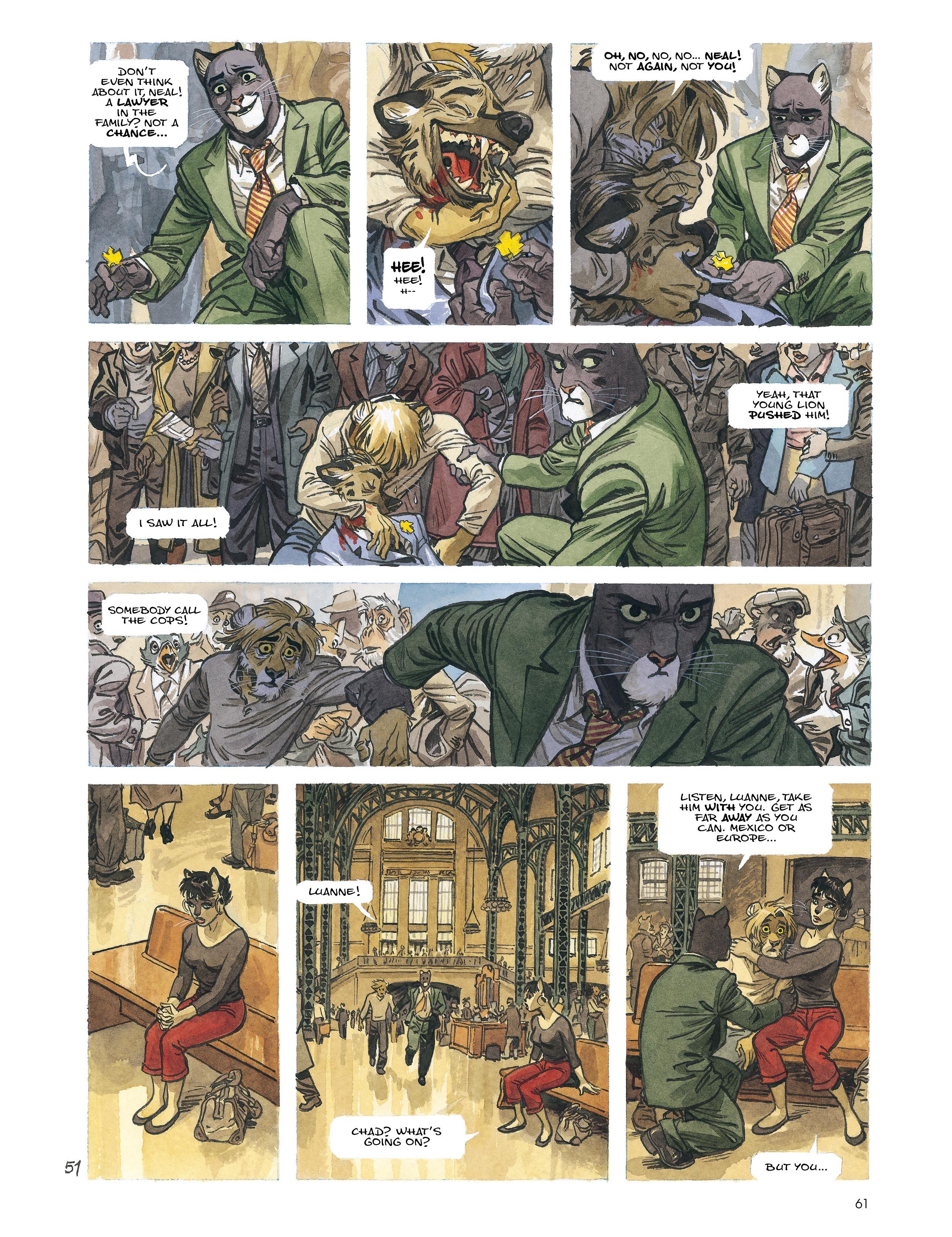 Read online Blacksad: Amarillo comic -  Issue # Full - 60