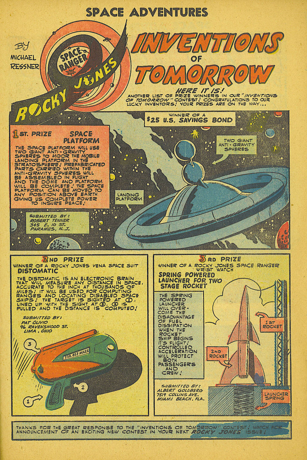 Read online Space Adventures comic -  Issue #18 - 18