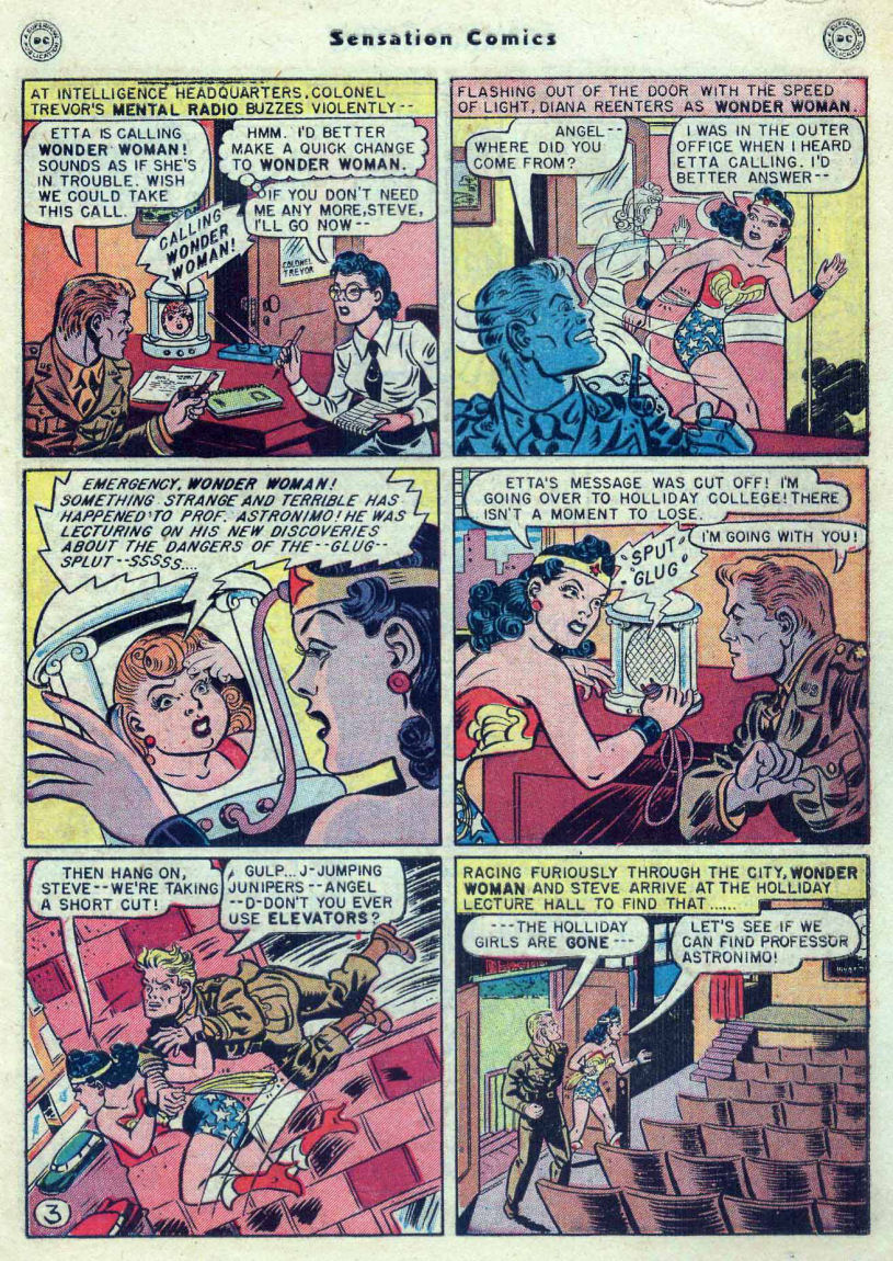 Read online Sensation (Mystery) Comics comic -  Issue #82 - 5