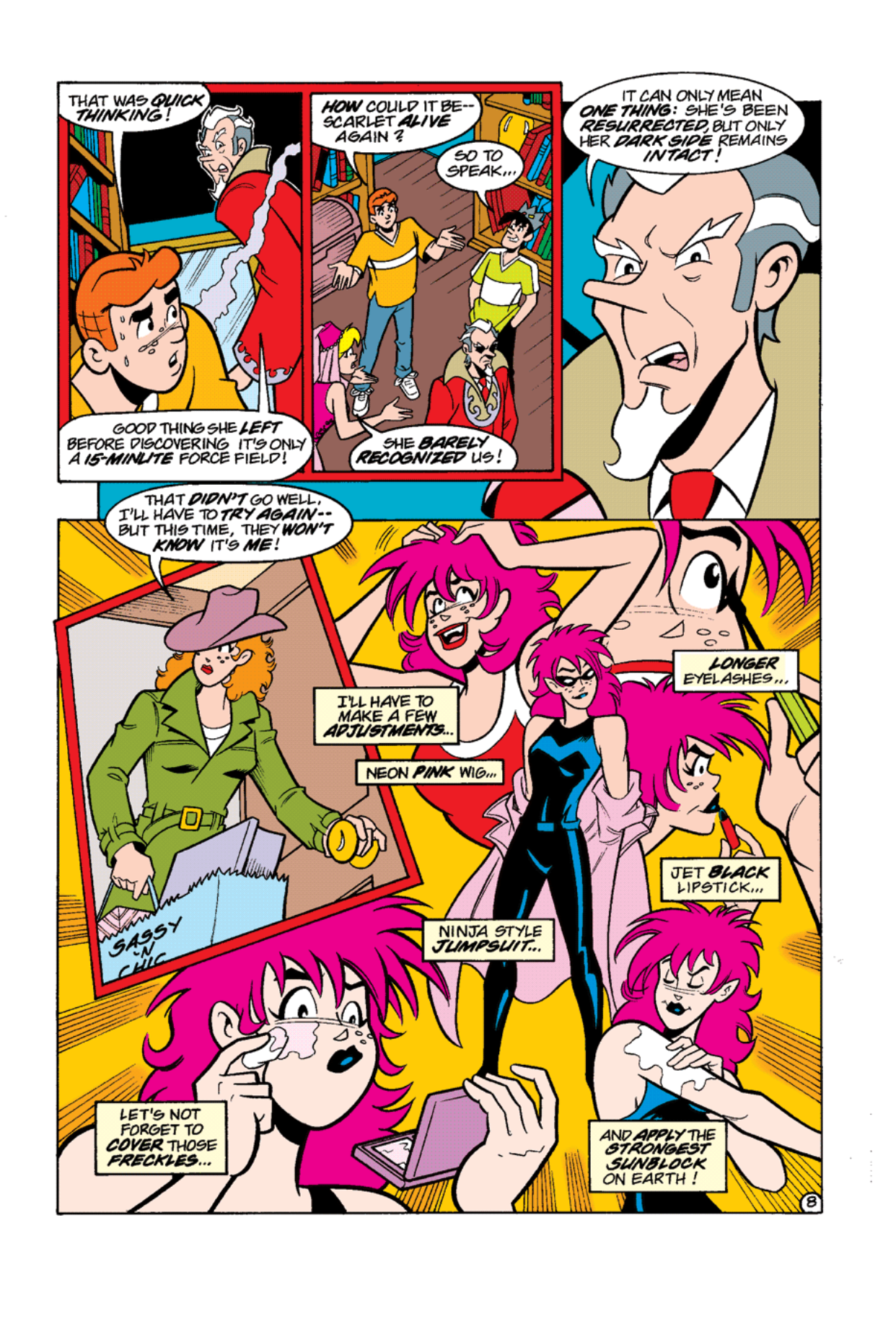 Read online Archie's Weird Mysteries comic -  Issue #12 - 10