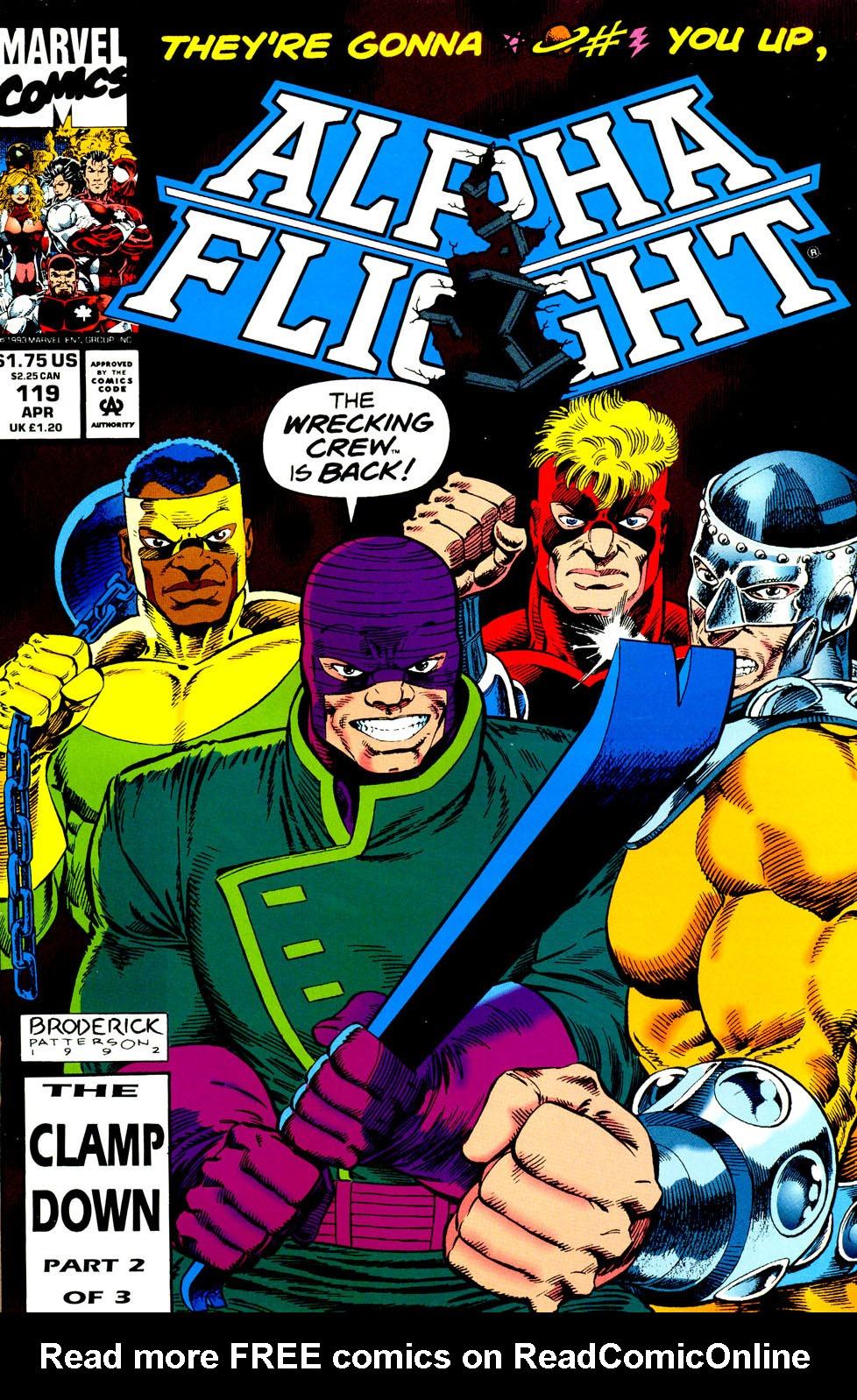 Read online Alpha Flight (1983) comic -  Issue #119 - 2