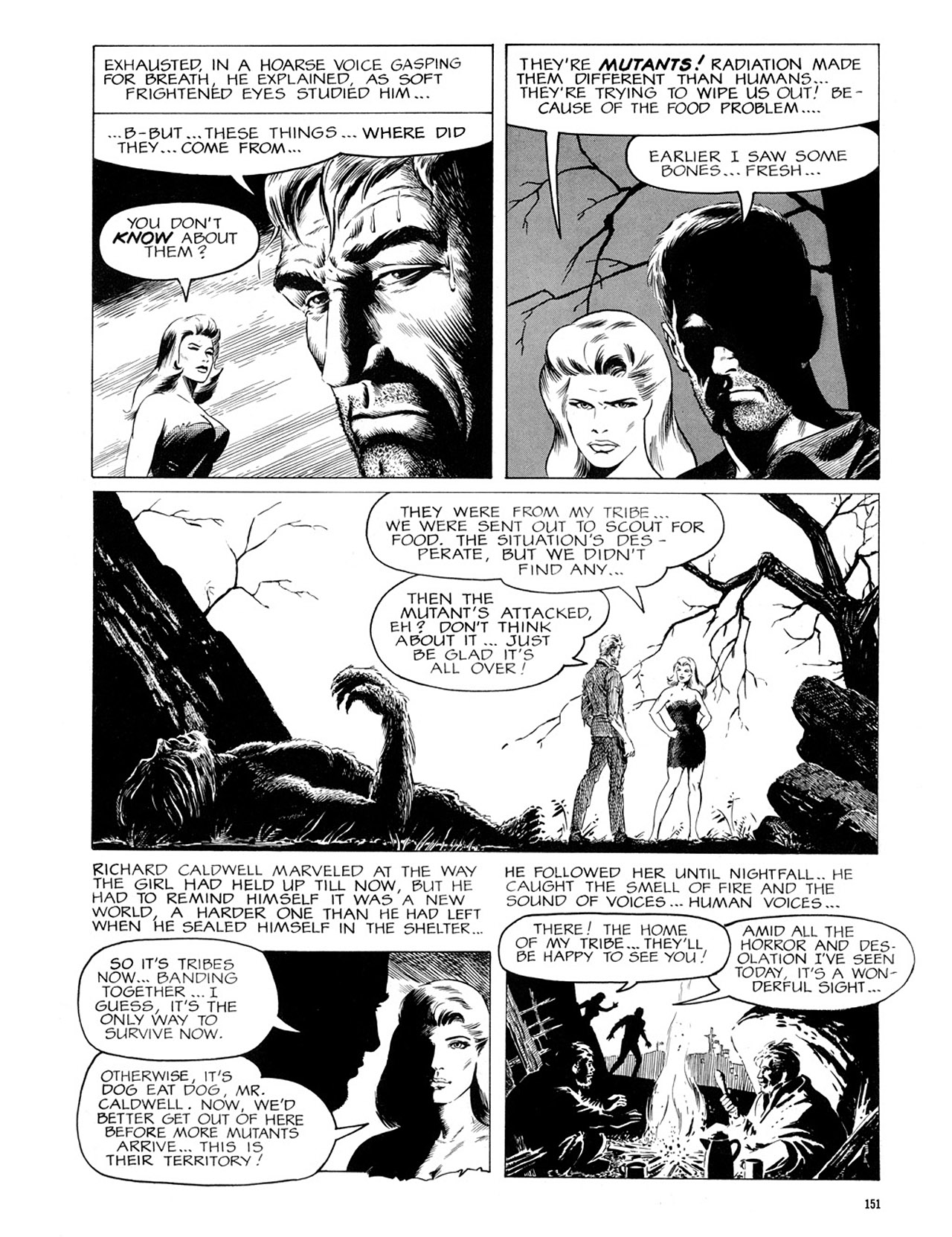 Read online Eerie Archives comic -  Issue # TPB 2 - 152