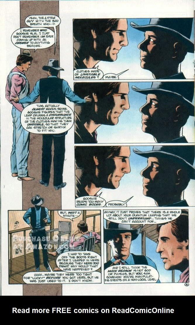Read online Quantum Leap comic -  Issue #12 - 17