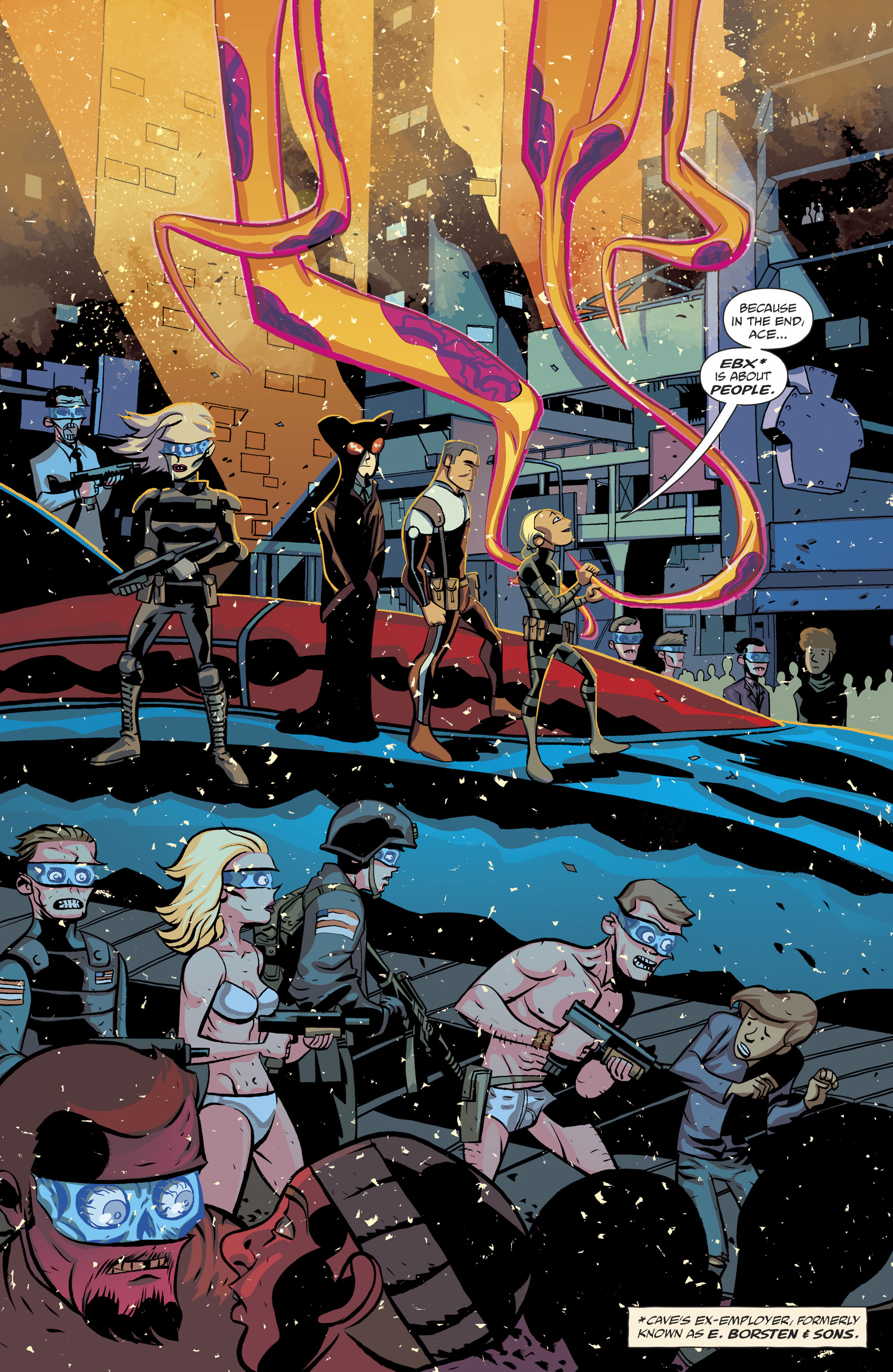 Read online Cave Carson Has a Cybernetic Eye comic -  Issue #8 - 9