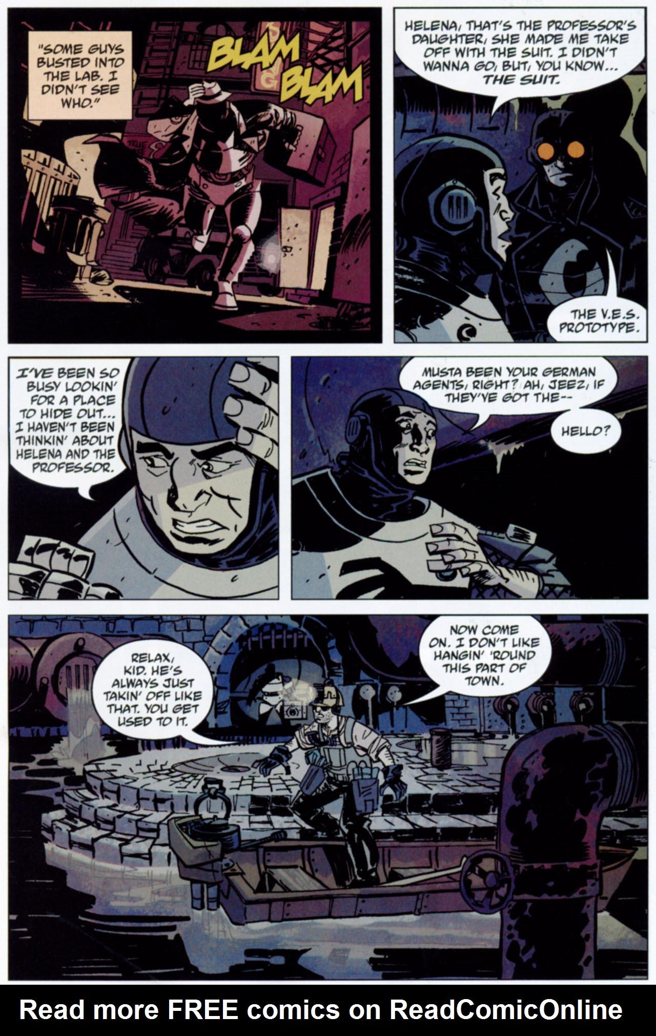 Read online Lobster Johnson: The Iron Prometheus comic -  Issue #1 - 17