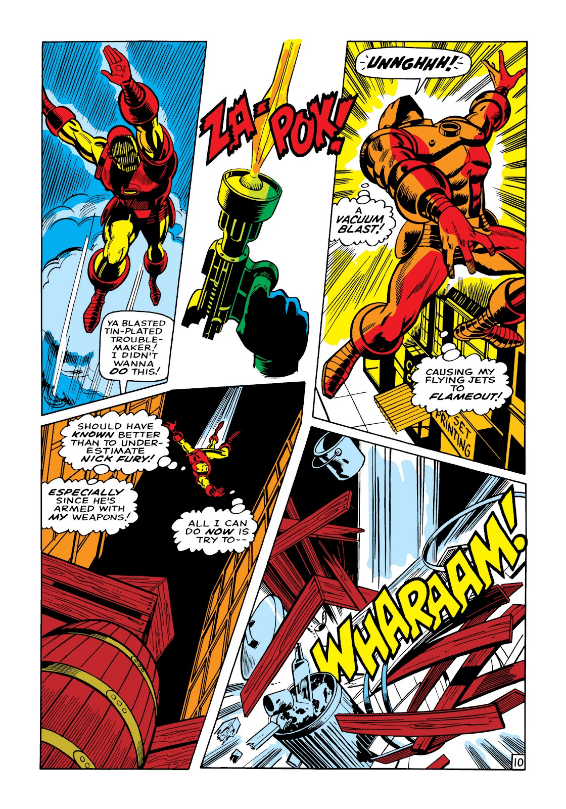 Read online Marvel Masterworks: The Invincible Iron Man comic -  Issue # TPB 5 (Part 2) - 85