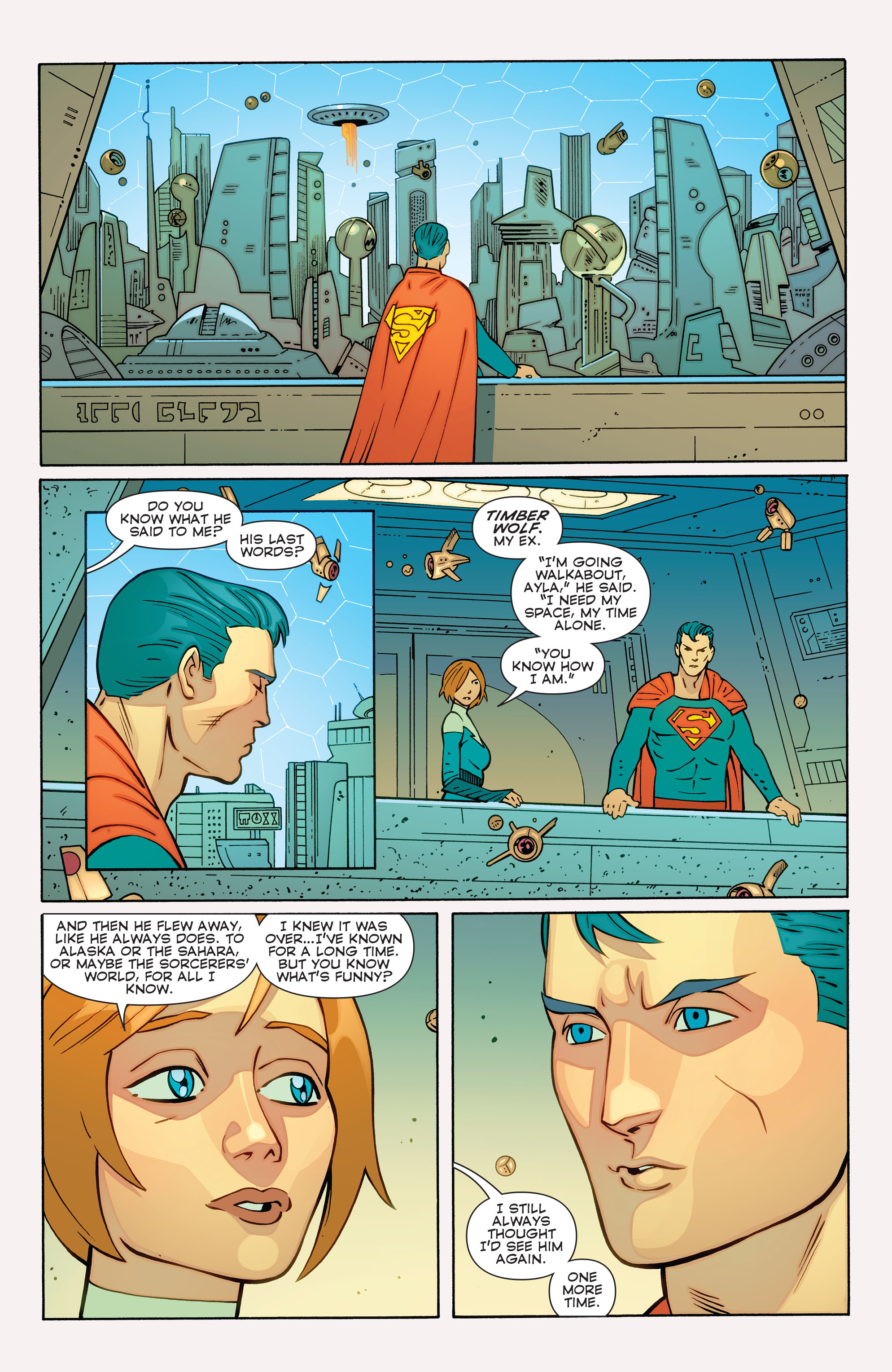 Read online Convergence Superboy and the Legion of Super-Heroes comic -  Issue #1 - 12